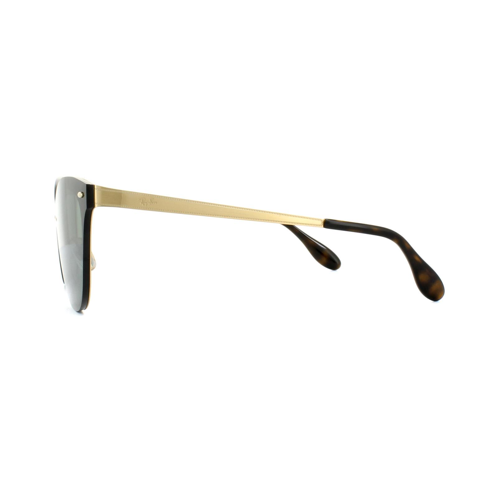 0b5c6c1659d88 CENTINELA Gafas de sol Ray-Ban Blaze ojo de gato 3580N 043 71 verde oro