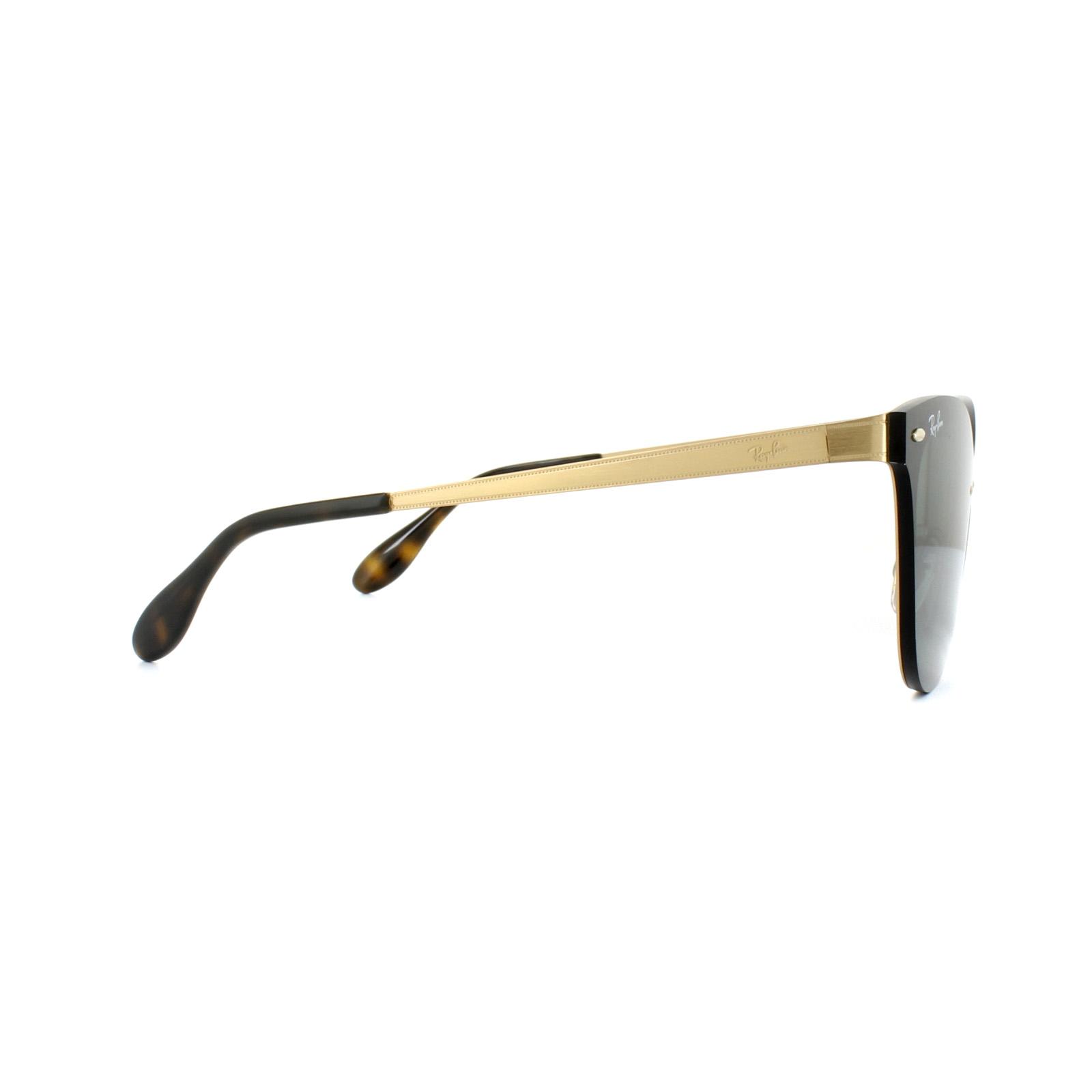 Ray-Ban Gafas de sol Blaze OJOS DE GATO 3580n 043/71 Oro Verde   eBay