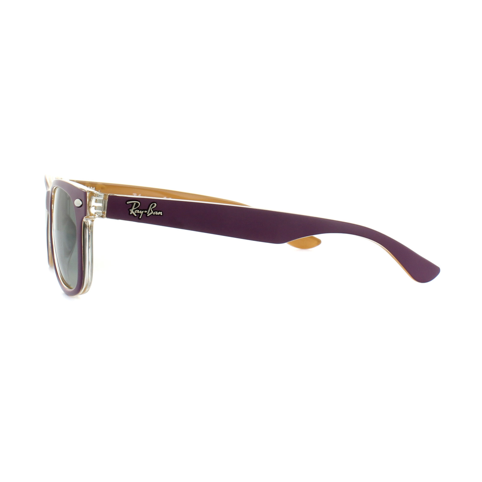 ffaafa63d64 Sentinel Thumbnail 3. Sentinel Ray-Ban Junior Sunglasses New Wayfarer 9052S  703311 ...