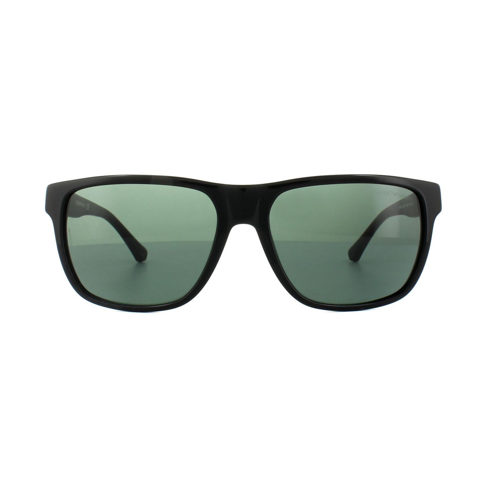 Emporio Armani Sunglasses 4035 501771 Black Grey Green 8053672287097 ... f82b9a3d27fd
