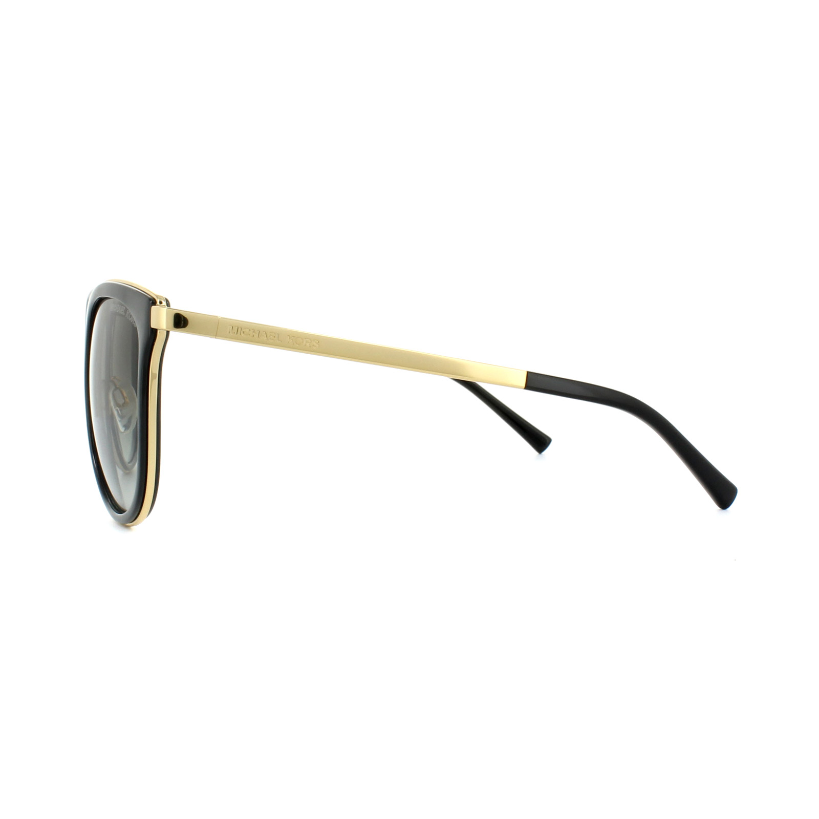 2cdc048636 Sentinel Thumbnail 3. Sentinel Michael Kors Sunglasses Adrianna 1 1010  110011 Black Gold ...