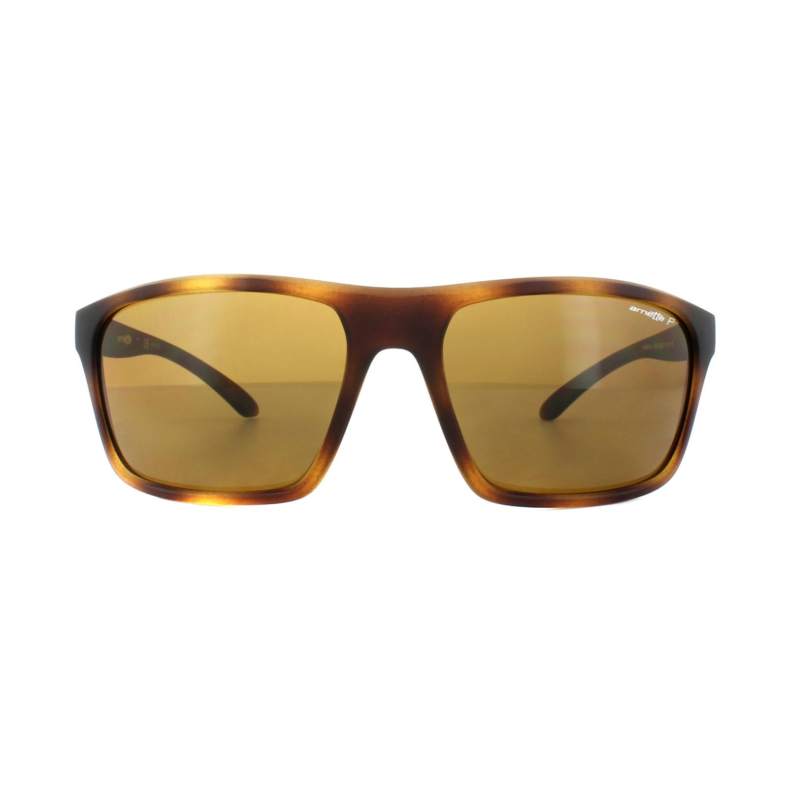 Arnette Herren Sonnenbrille »SANDBANK AN4229«, braun, 215283 - braun/braun