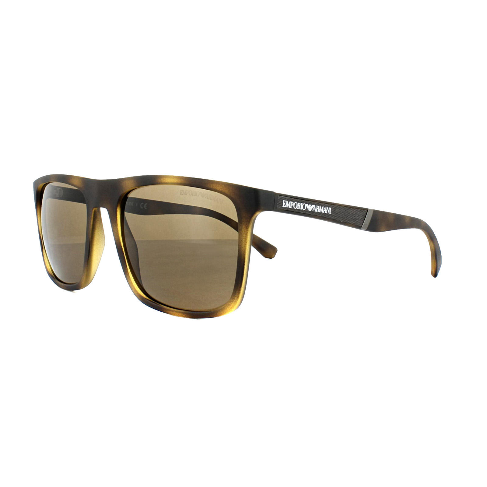 5d409c69889 Details about Emporio Armani Sunglasses EA4097 5089 73 Matt Havana Brown