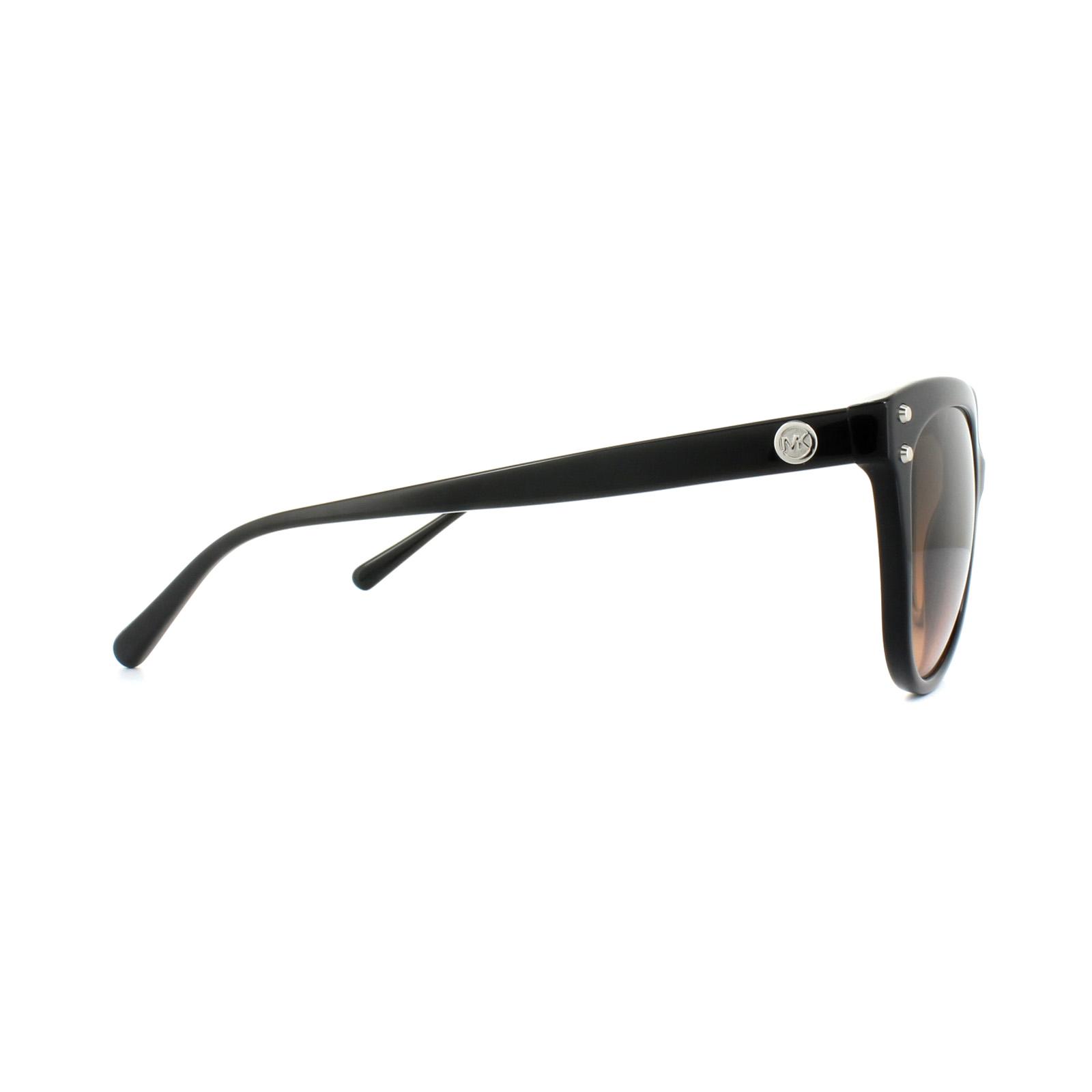 d762e3baae0e8 Sentinel Michael Kors Sunglasses Jan 2045 3177 11 Black Grey Brown Gradient