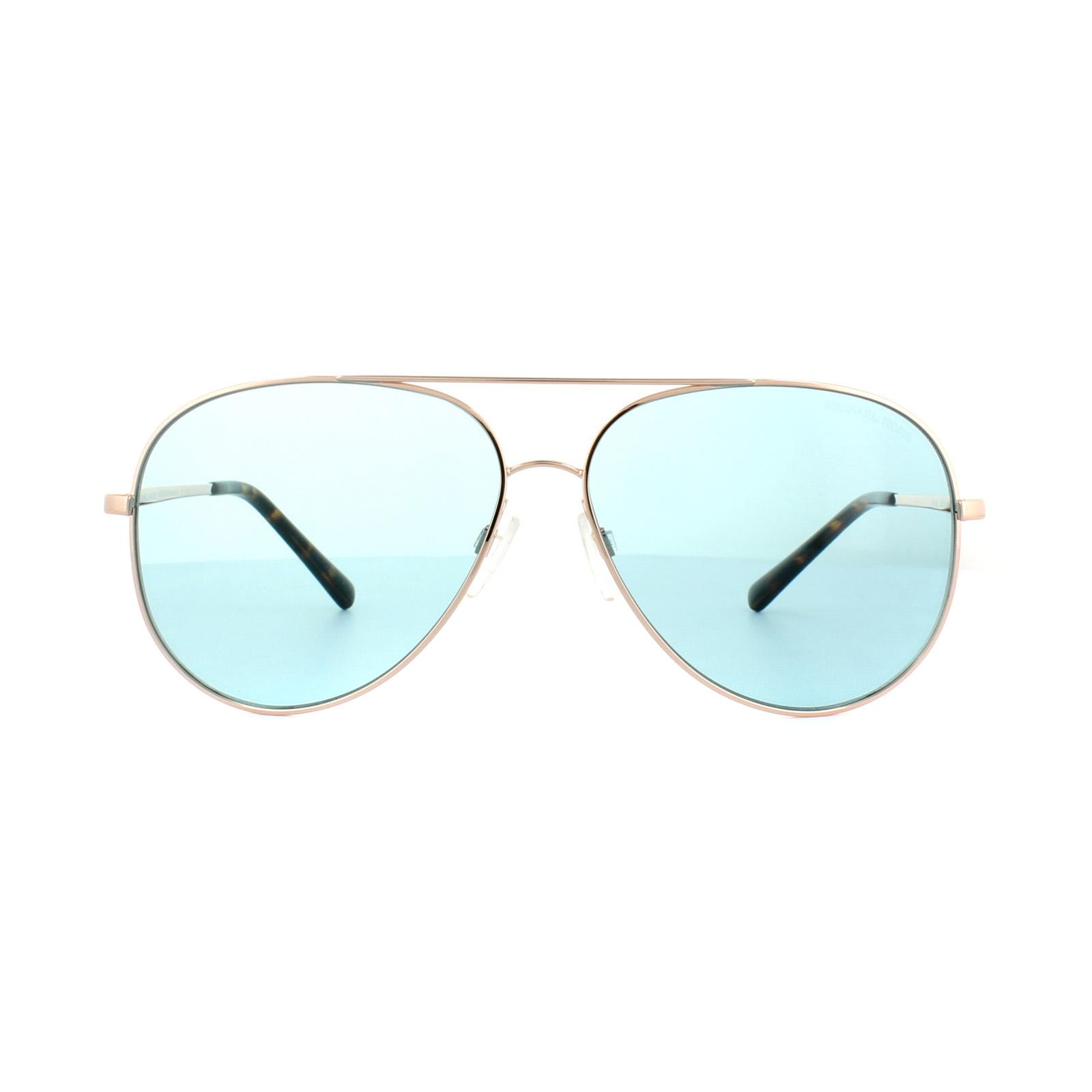Sentinel Michael Kors Sunglasses Kendall 1 5016 1026 65 Rose Gold Teal e8b3045490f