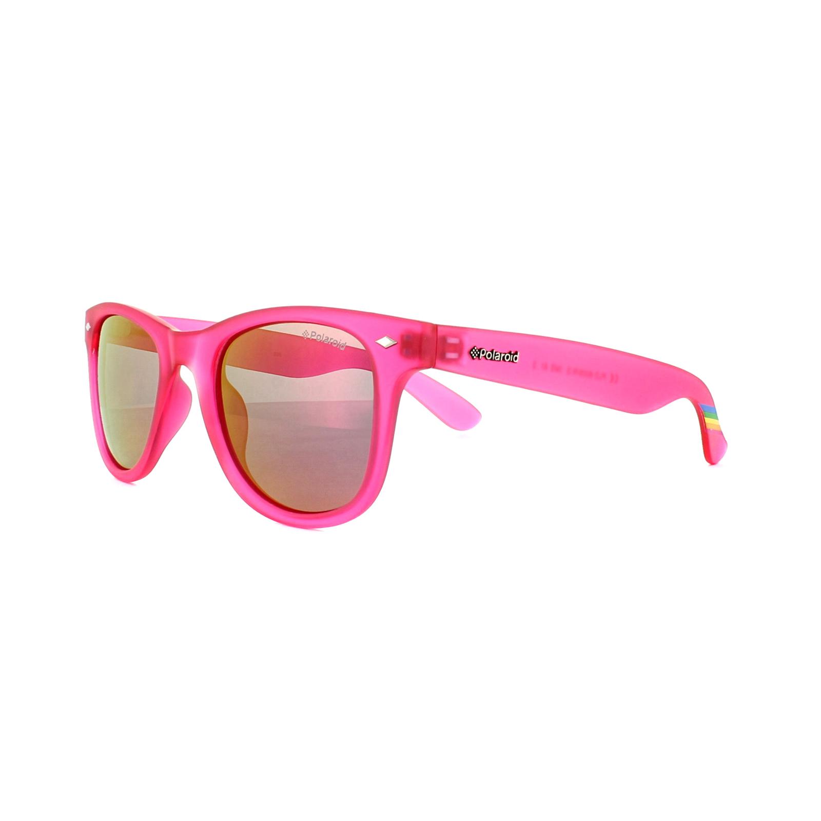 e2f257ab176b Sentinel Polaroid Sunglasses 6009 N S IMS AI Bright Pink Pink Mirror  Polarized