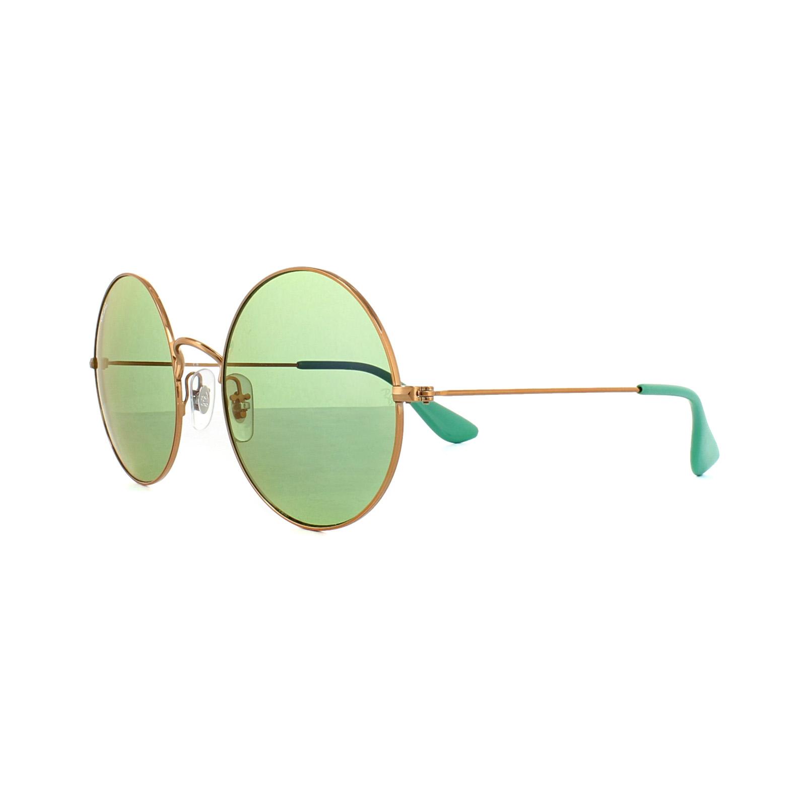 93f9e181cc4 Sentinel Ray-Ban Sunglasses Ja-Jo 3592 9035C7 Bronze Copper Green