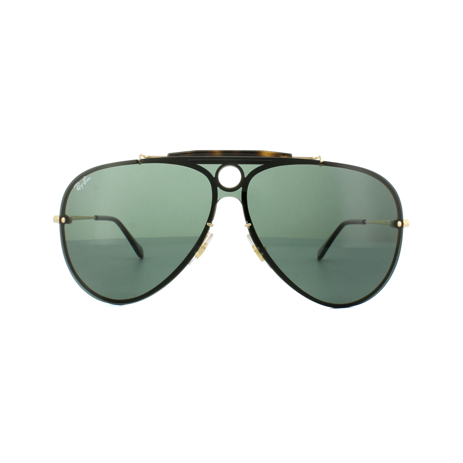 Sentinel Ray-Ban Sunglasses Blaze Shooter 3581N 001 71 Gold Green. Sentinel  Thumbnail 3 d8891215fc