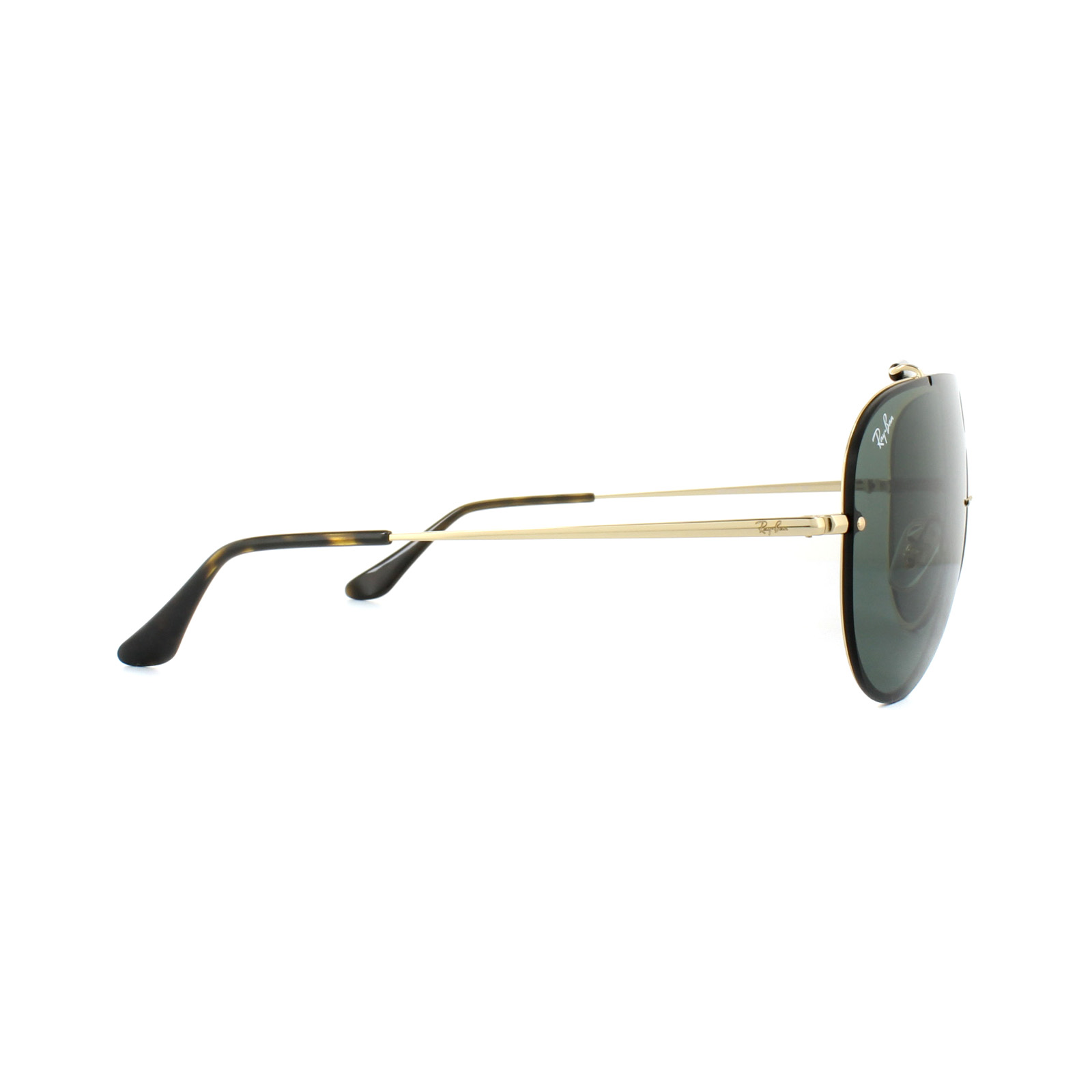 87cd8167be Sentinel Ray-Ban Sunglasses Blaze Shooter 3581N 001 71 Gold Green