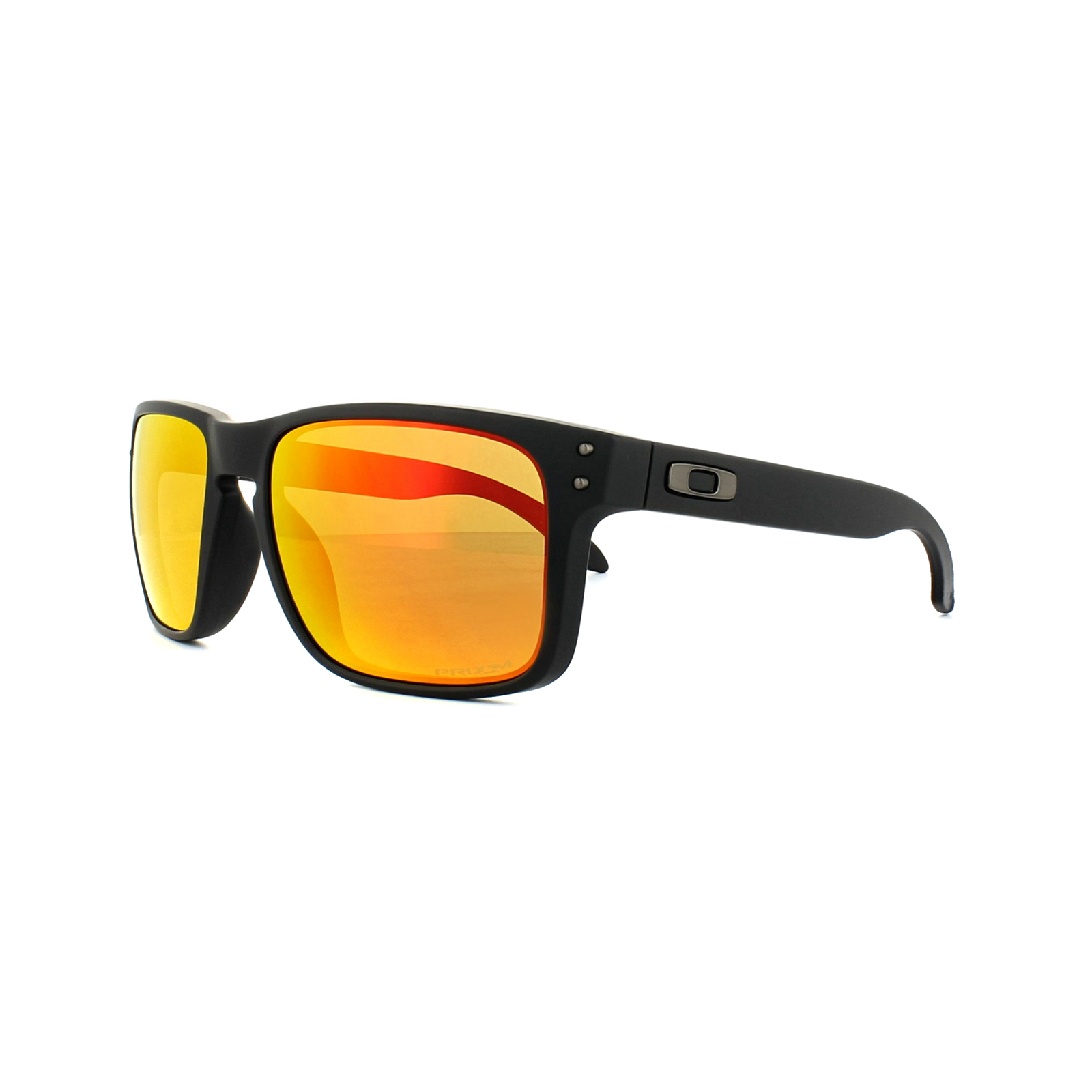 c03500cecb Sentinel Oakley Sunglasses Holbrook OO9102-E2 Matt Black Prizm Ruby