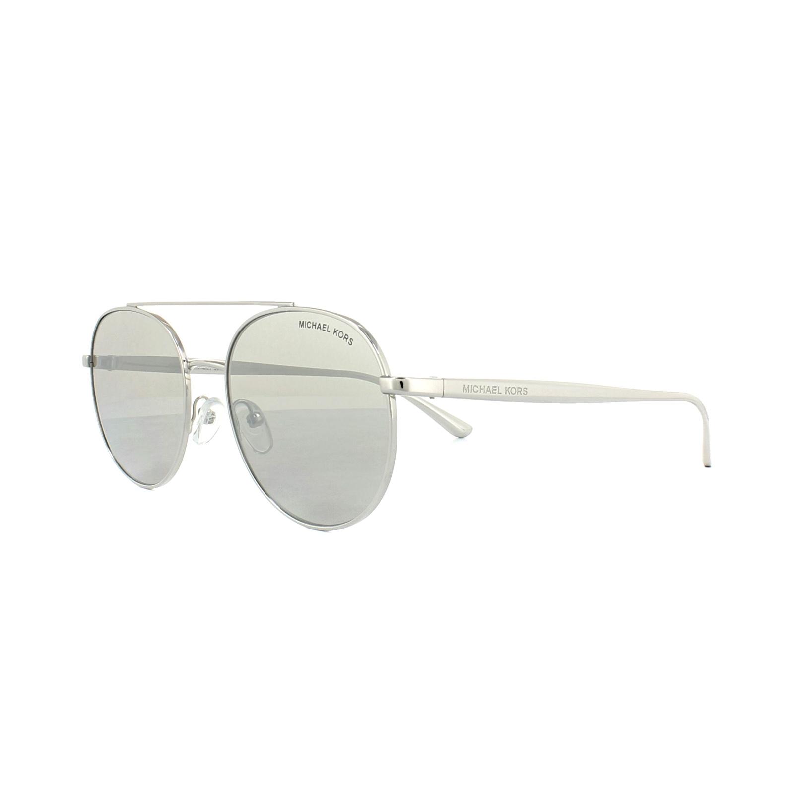 e36876522d755 Sentinel Michael Kors Sunglasses Lon 1021 1001 6G Silver Silver Mirror