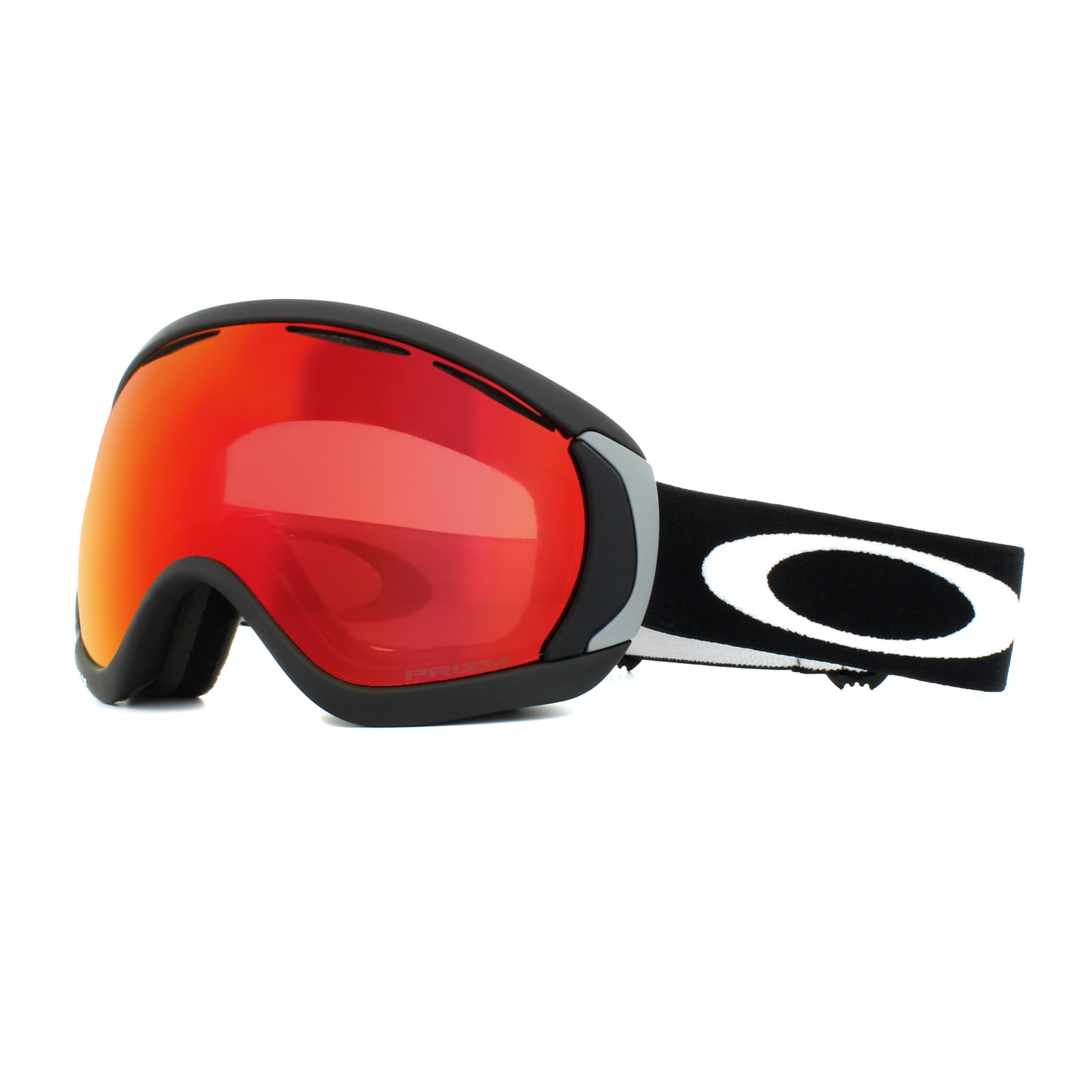 05cf4d51554c Sentinel Oakley Ski Goggles Canopy OO7047-43 Matt Black Prizm Snow Torch  Iridium