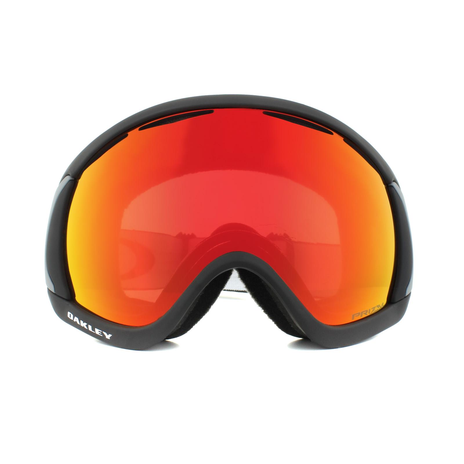 Sentinel Oakley Ski Goggles Canopy OO7047-43 Matt Black Prizm Snow Torch  Iridium a49af6e96dfc1
