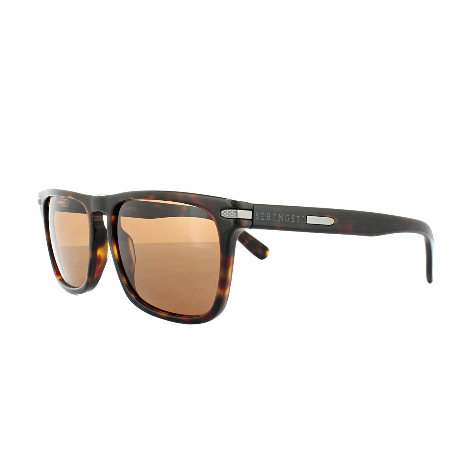 fea8c37de8 CENTINELA Serengeti gafas de sol Carlo 8159 la Habana oscuro conductores  marrón polarizado