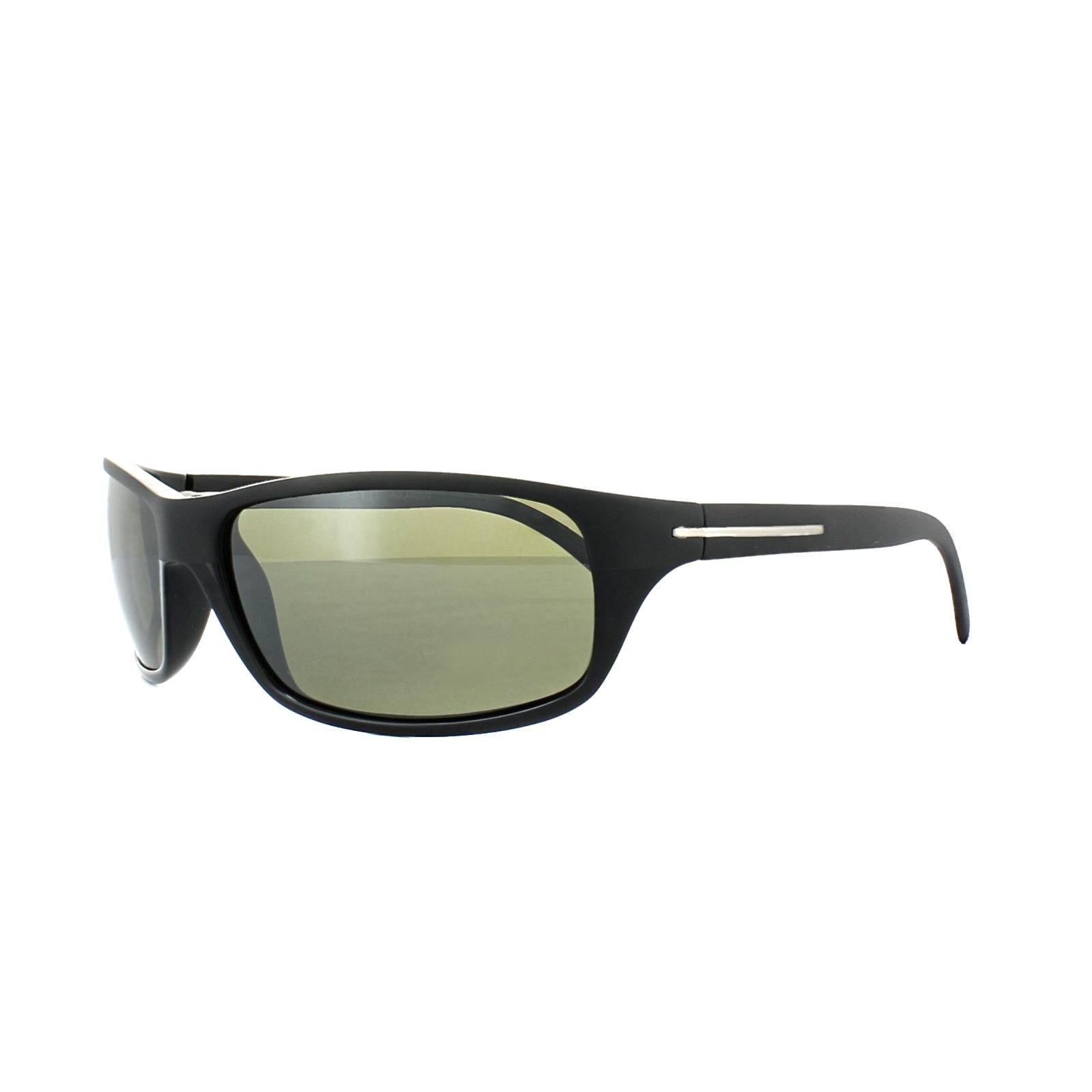 3d548f203bfd82 Sentinel Serengeti Sunglasses Pisa 8279 Satin Shiny Black Green 555nm  Polarized