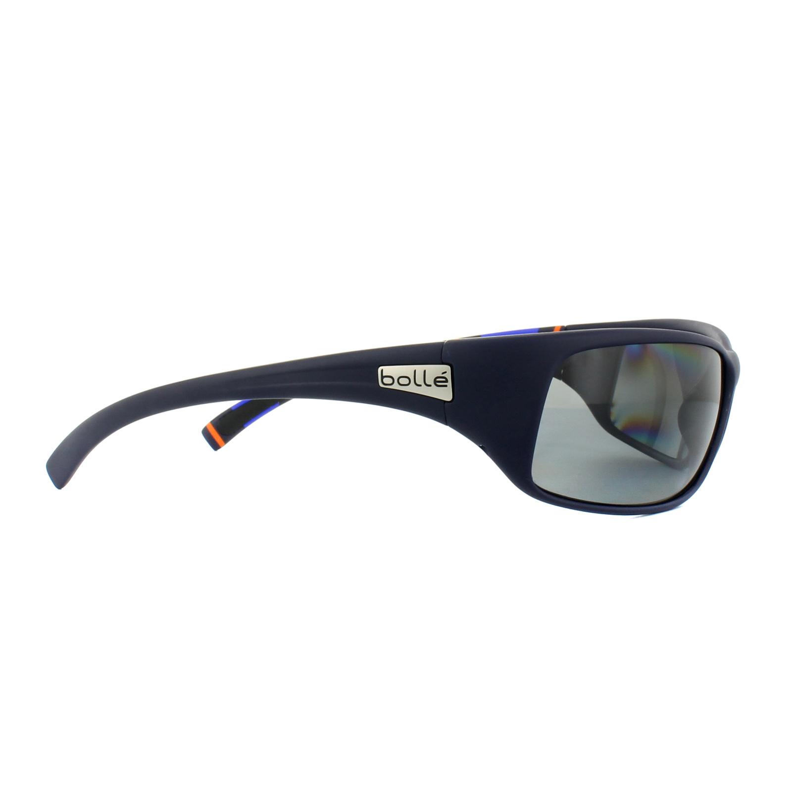 248513a480b Sentinel Bolle Sunglasses Recoil 11966 Matt Blue Stripes Modulator Grey  Polarized