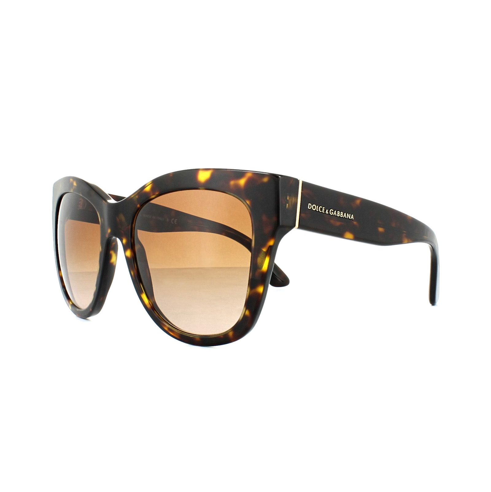 285d52ef40bc Details about Dolce & Gabbana Sunglasses 4270 502/13 Havana Brown Gradient