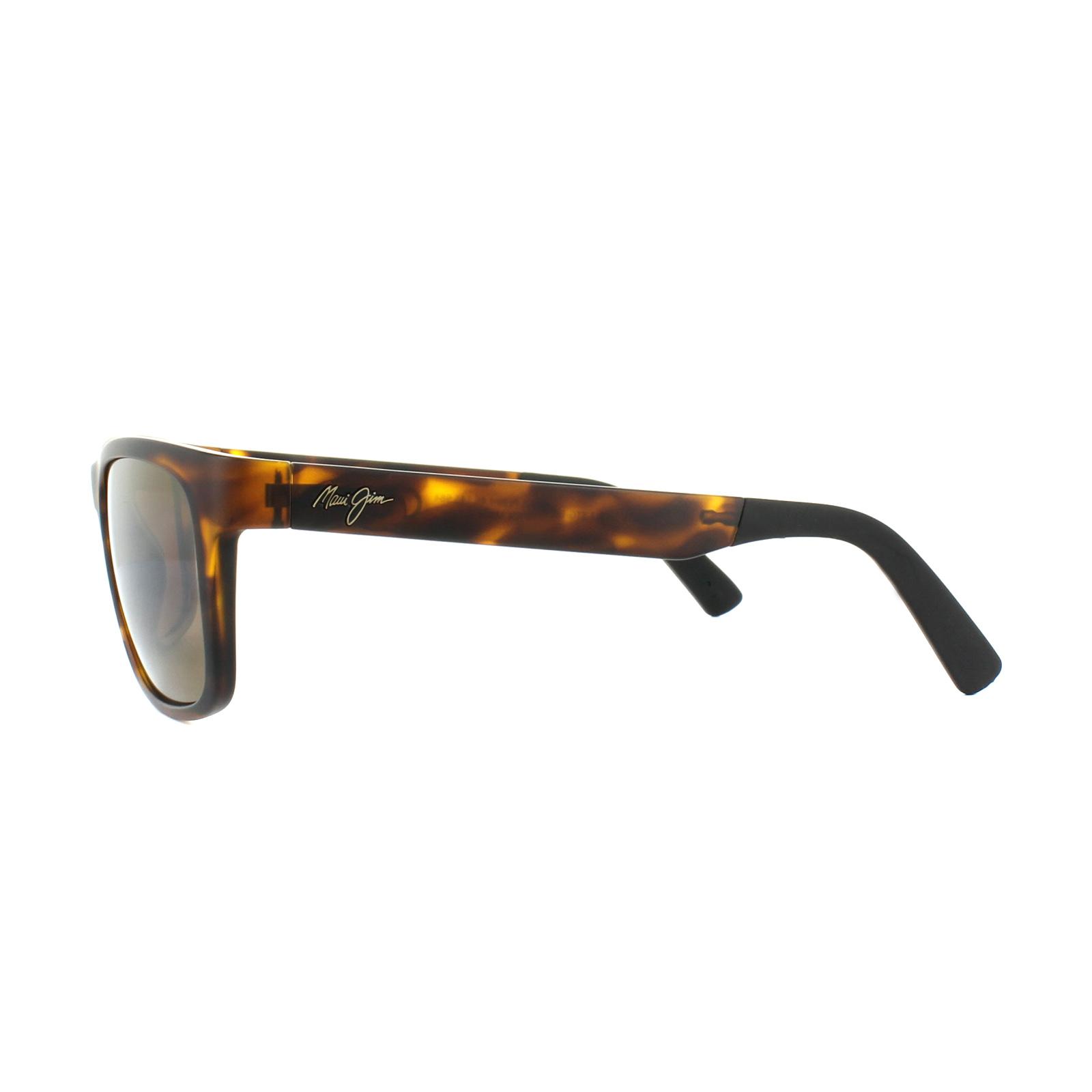 554e19179e Sentinel Maui Jim Sunglasses South Swell H755-10M Matt Tortoise HCL Bronze
