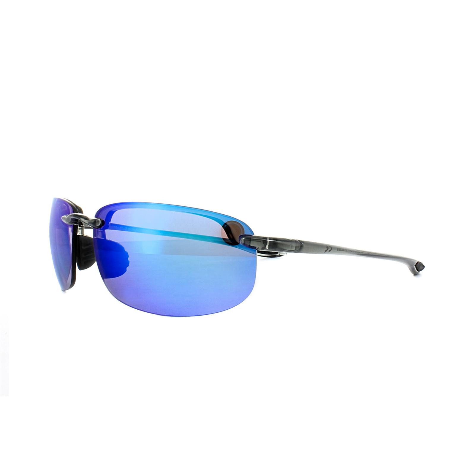 9f02b9b1e0d Sentinel Maui Jim Sunglasses Hookipa B407-11 Smoke Grey Blue Hawaii Mirror