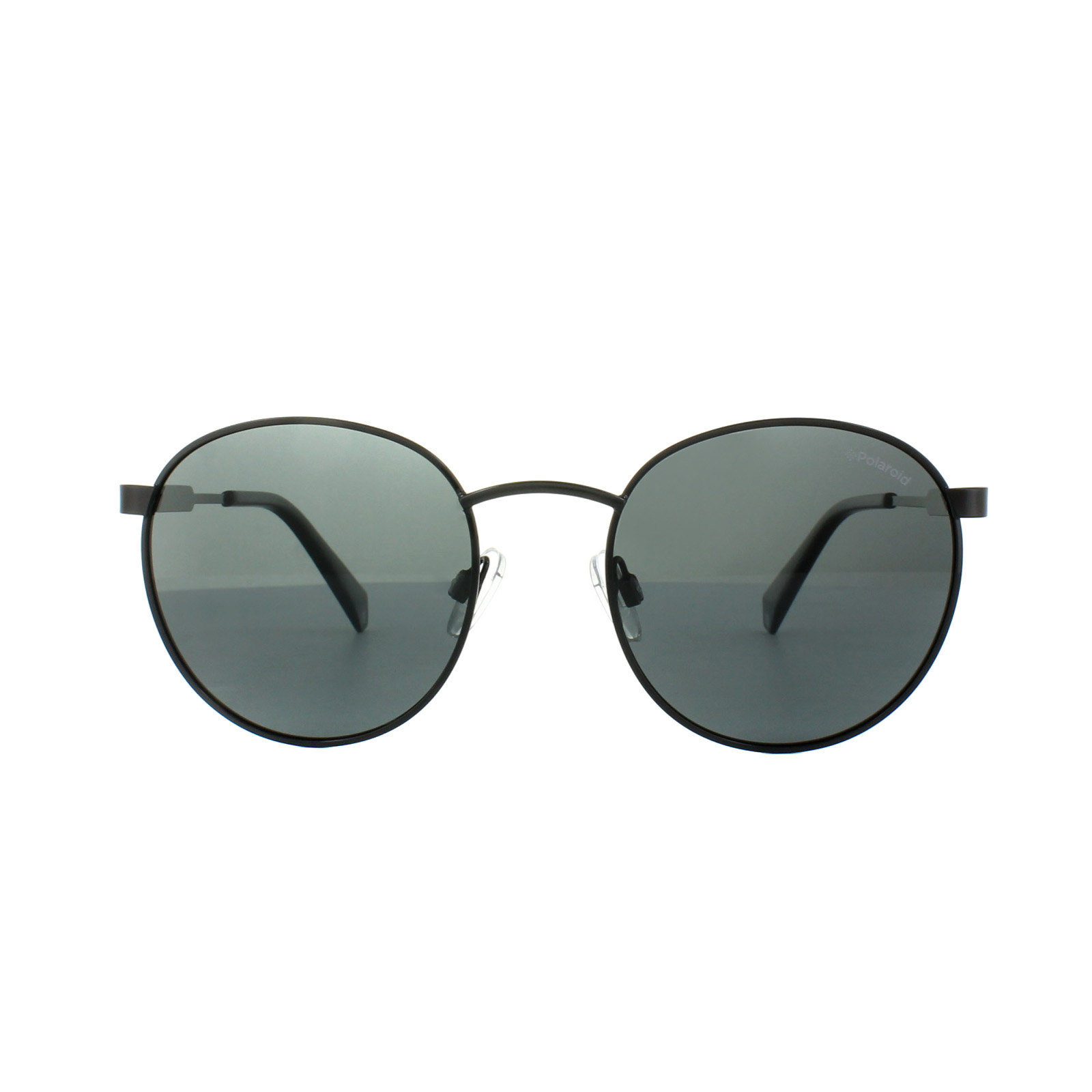 9360b5966a6 Sentinel Polaroid Sunglasses PLD 2053 S 807 M9 Black Dark Grey Polarized
