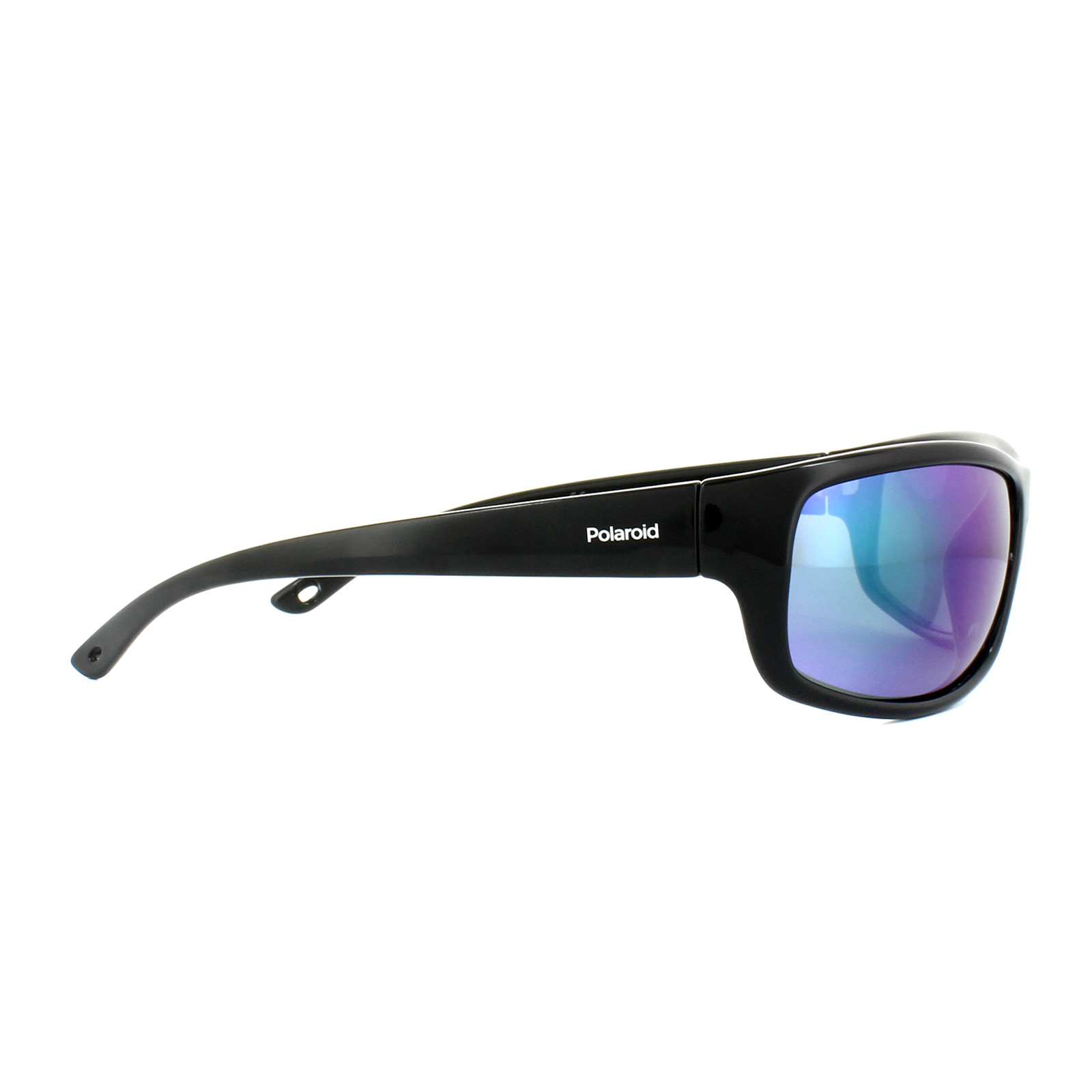Polaroid Sport Sunglasses Pld 7017 S 807 5z Black Blue Green Mirror