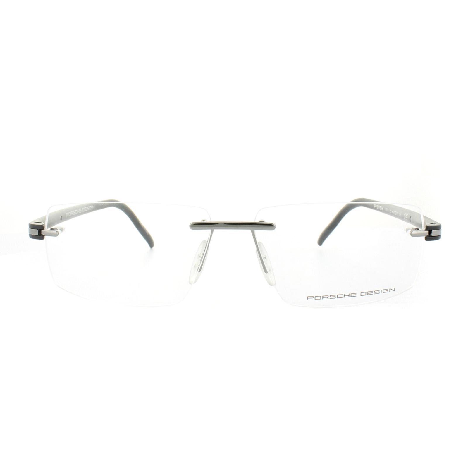 c06e19c0e778 Sentinel Porsche Design Glasses Frames P8153 C Grey Matt Black Clear