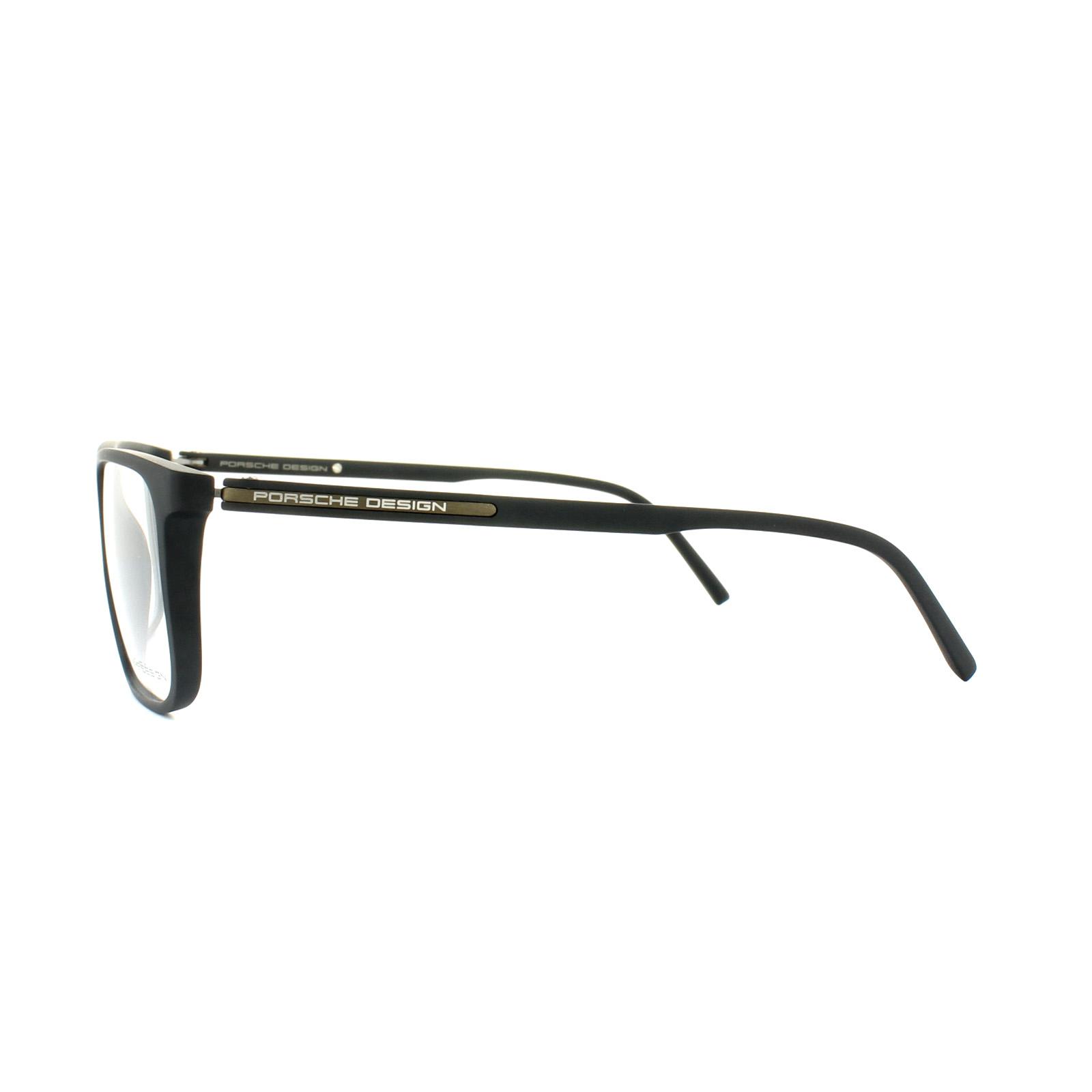 48e7690ad7 Porsche Design Glasses Frames P8299 A Black Clear 4046901294045