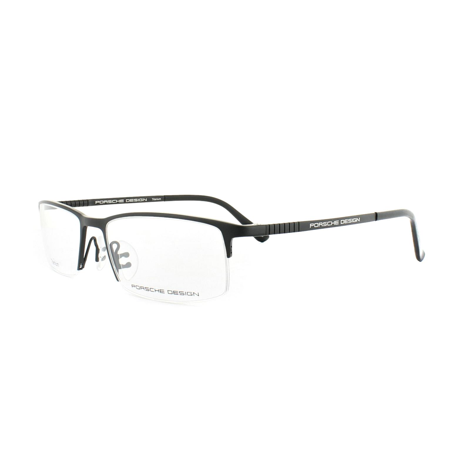 0cb1527f0f99 ... Porsche Design Glasses Frames P8237 A Black 4046901711115 eBay