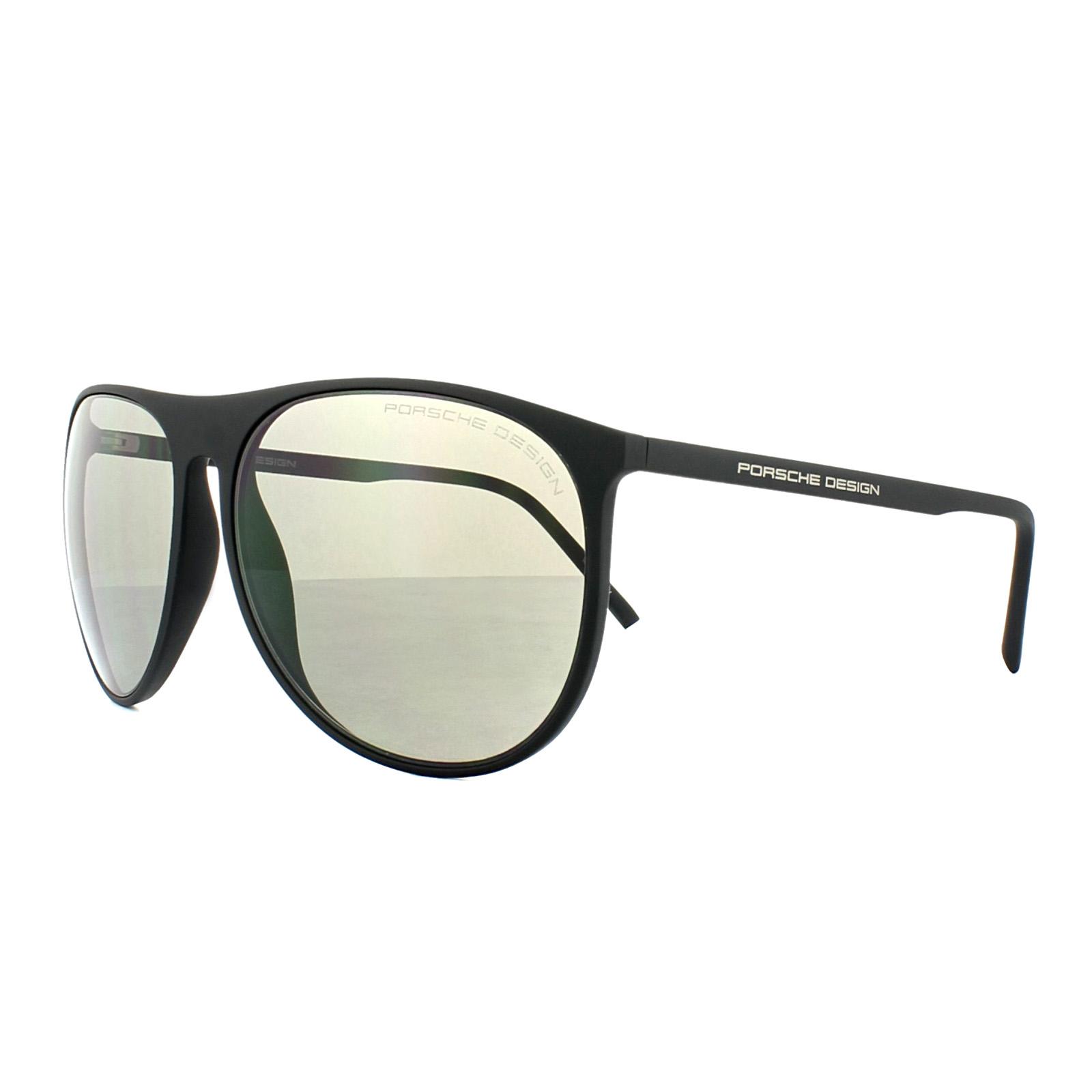73e5a65e40c Porsche Design Sunglasses P8596 B Black Grey 4046901829735