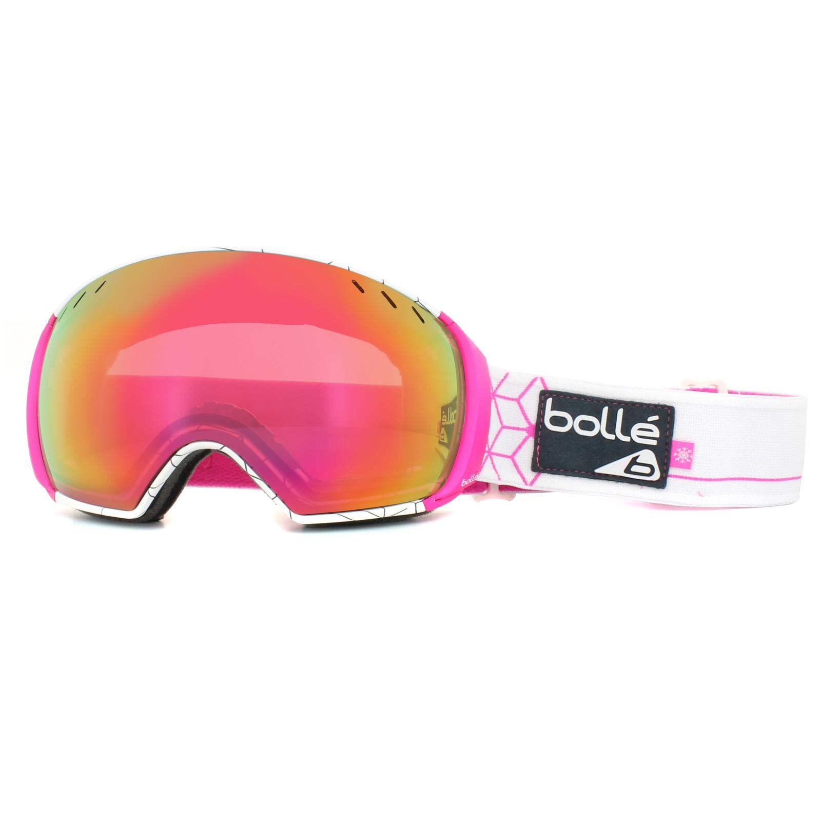 c4f93f903ce1 Sentinel Bolle Ski Goggles Virtuose 21436 White   Pink Iceberg Rose Gold    Lemon Gun. Sentinel Thumbnail 2