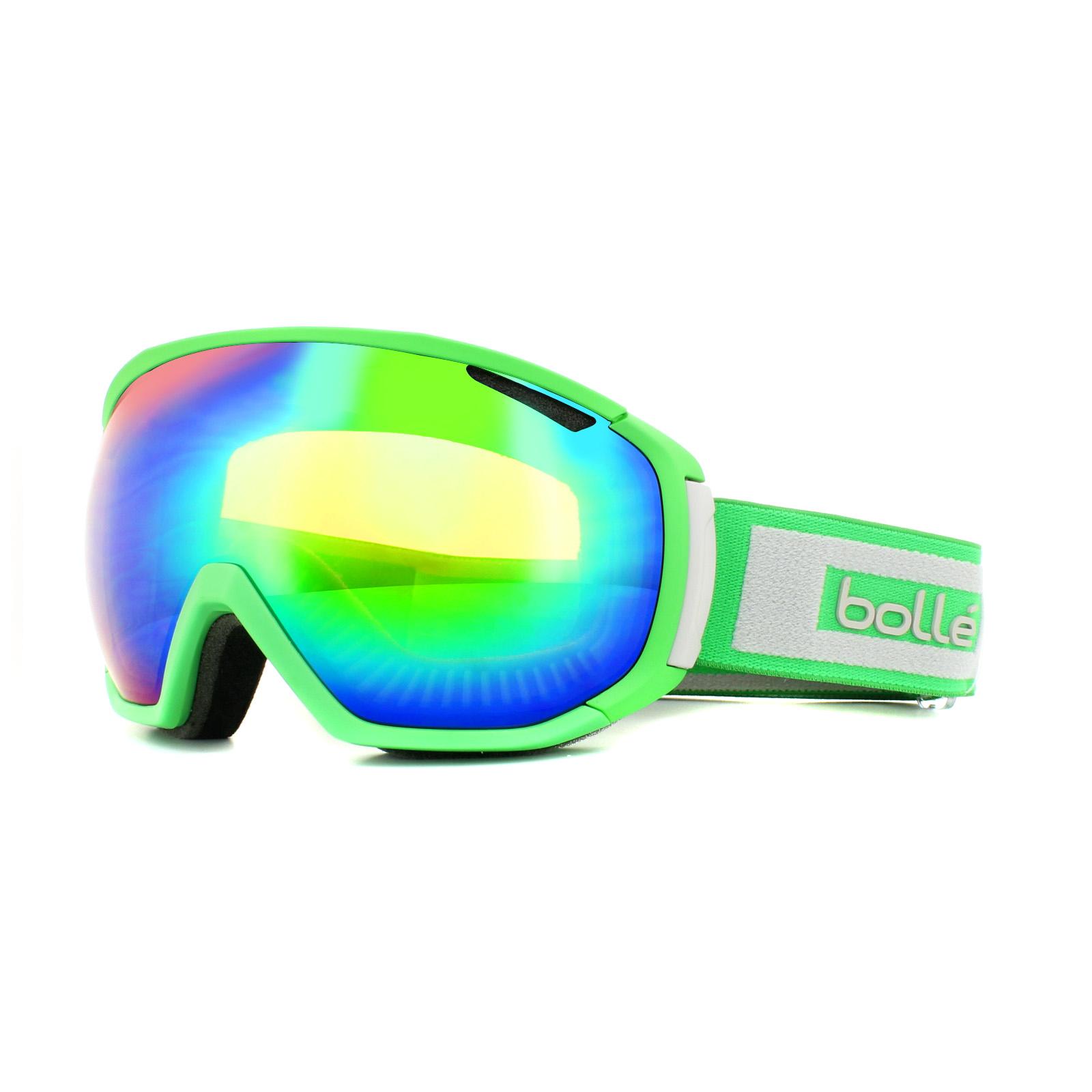 7b9f12cf2d Sentinel Bolle Ski Goggles Tsar 21444 Matt Green & Grey Green Emerald