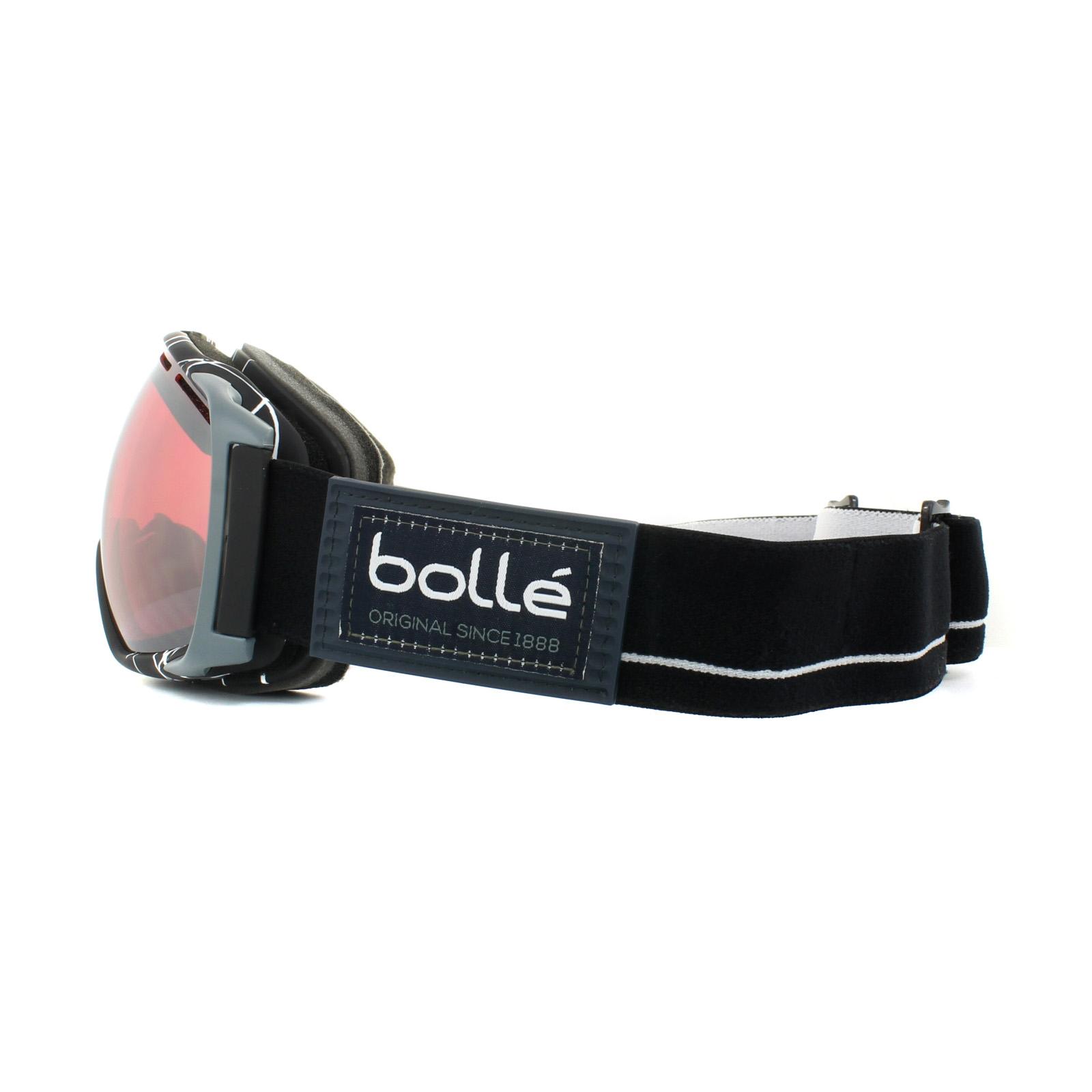 0324e7398679 Sentinel Bolle Ski Goggles Gravity 21459 Black   White Vermillon Gun