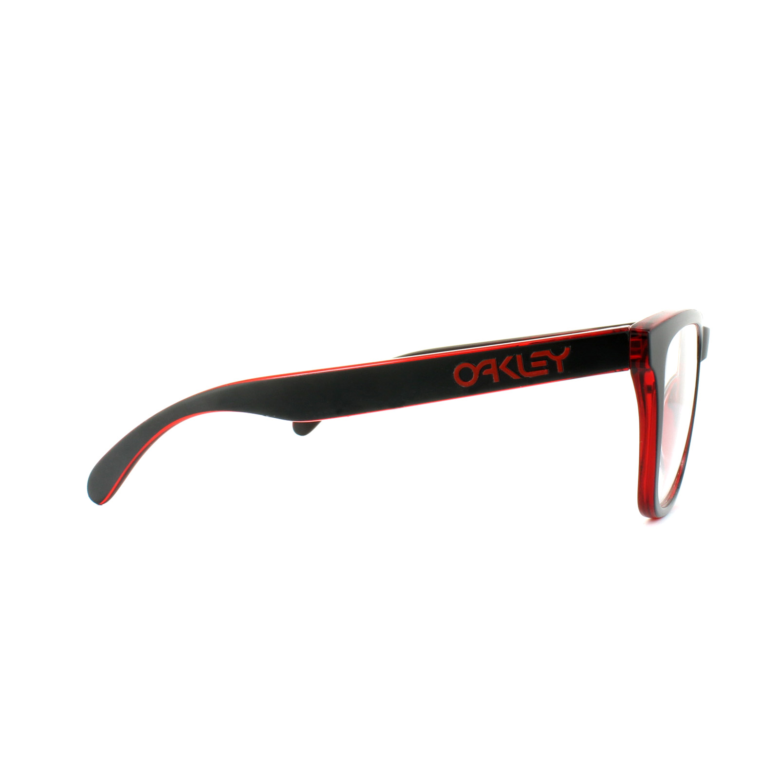 e1fb0ca744 ... ireland sentinel oakley glasses frames frogskins ox8131 01 eclipse  black red 05f99 ef587