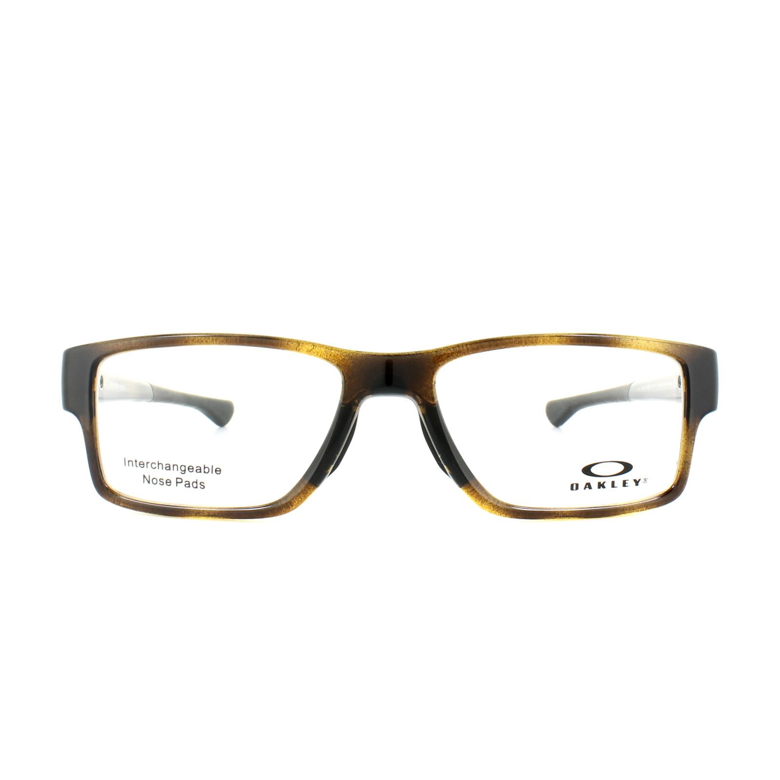 42e56d67eb Sentinel Oakley Glasses Frames Airdrop Trubridge OX8121-04 Polished Brown  Tortoise