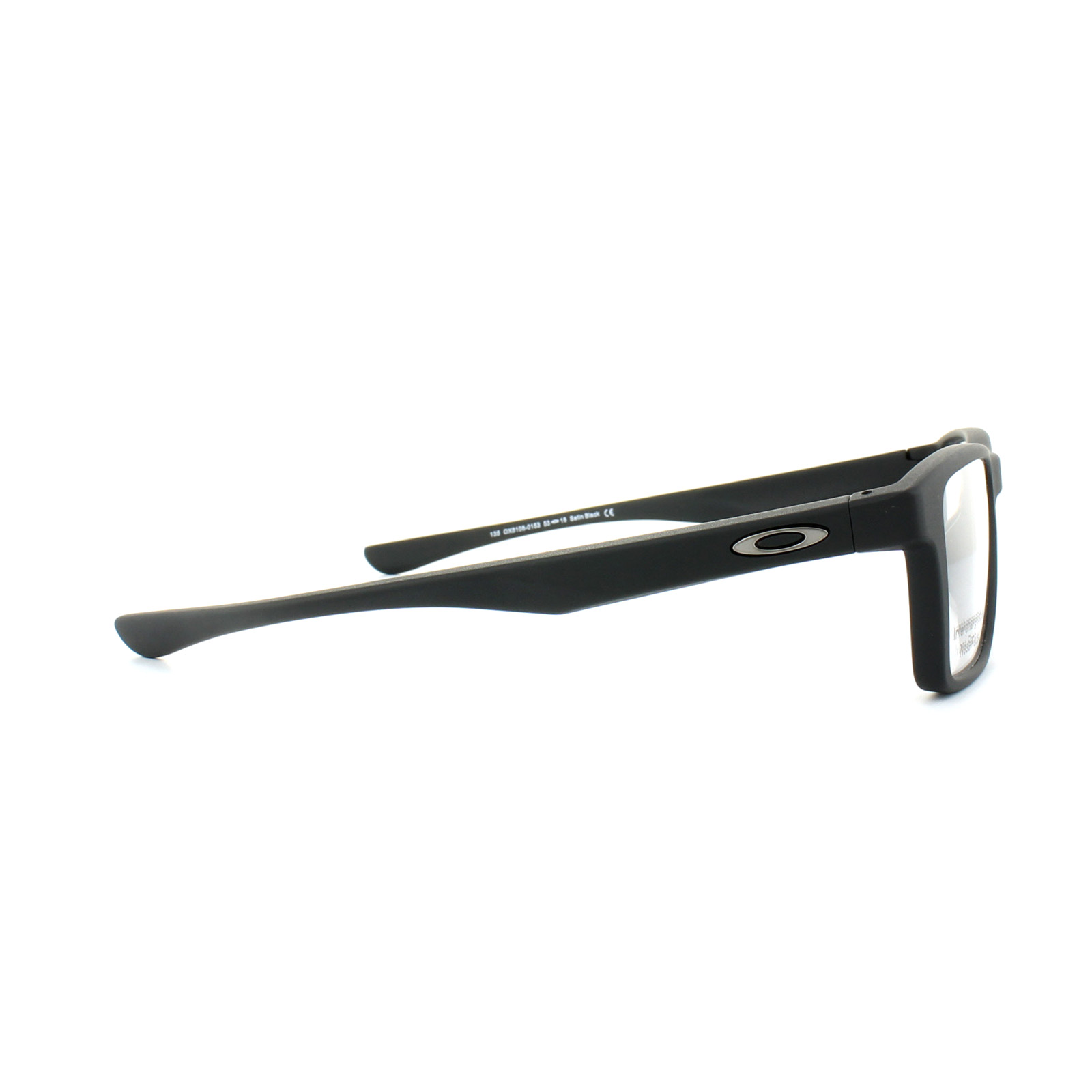 cc2a295d62 Sentinel Oakley Glasses Frames Fin Box Trubridge OX8108-01 Satin Black