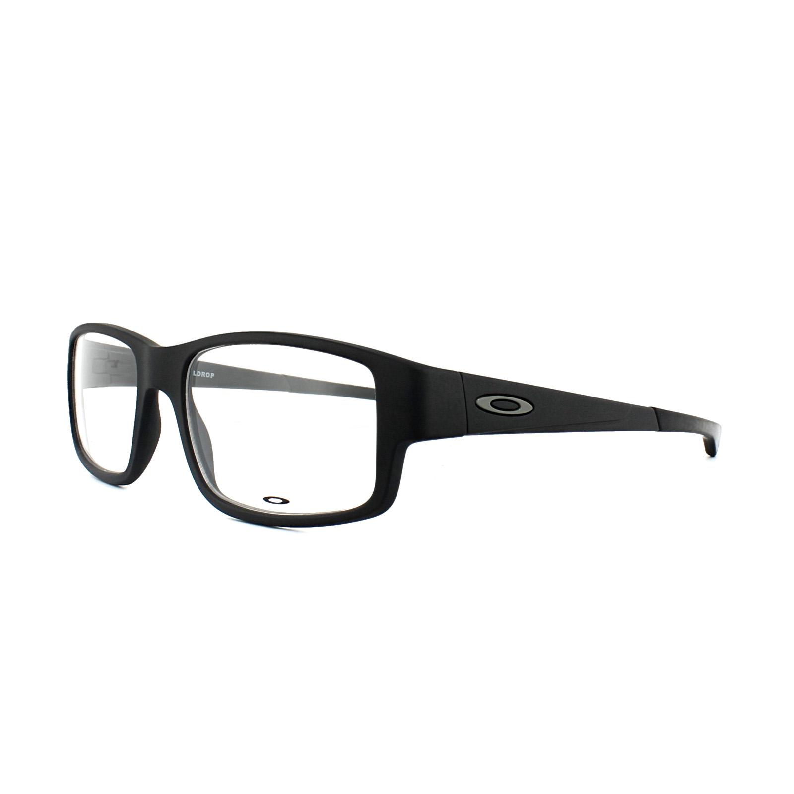 7c379552dfd51 Oakley Glasses Frames Taildrop OX8104-01 Satin Black 888392216328