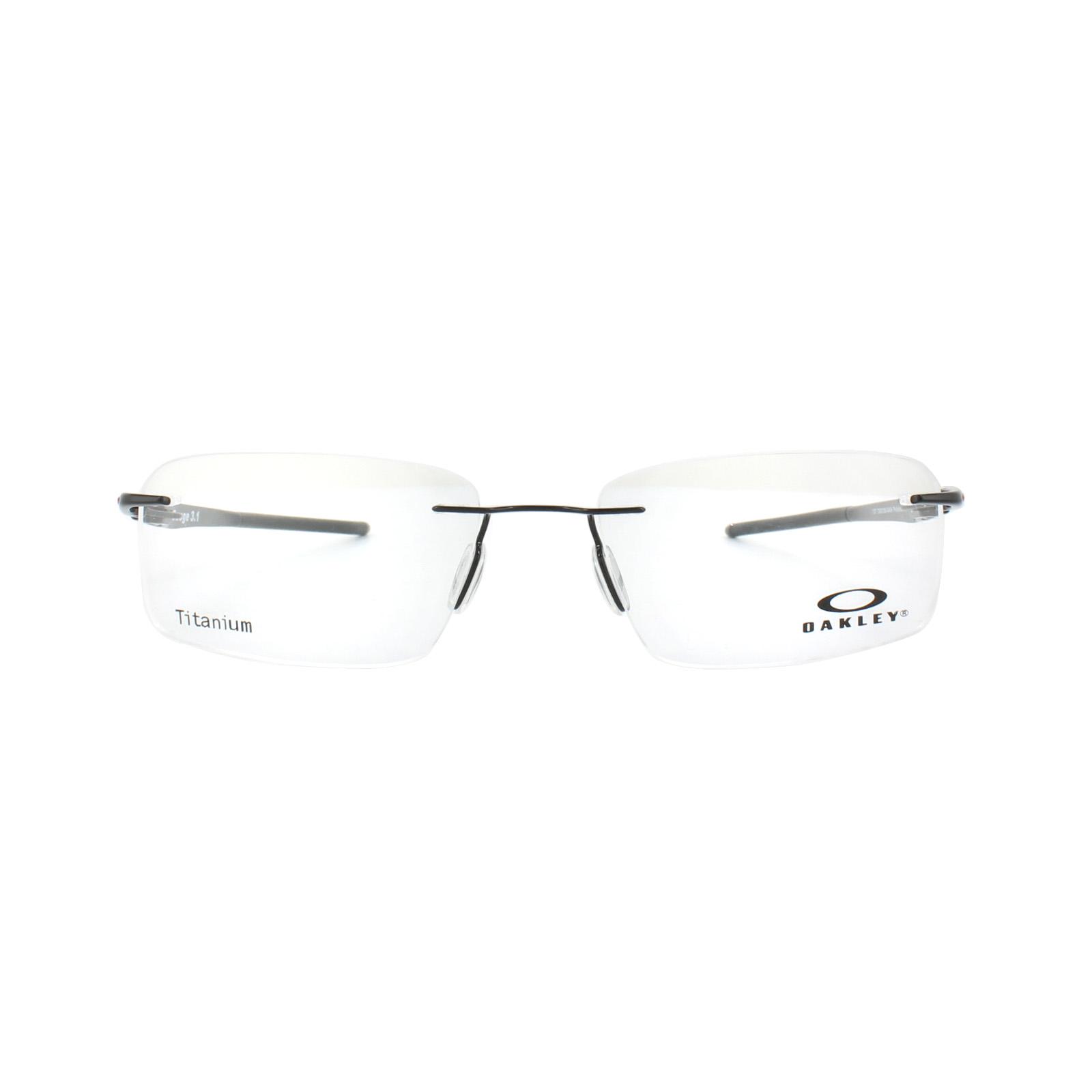 Oakley Brillengestell Gauge 3.1 OX5126-04 Poliert Schwarz | eBay