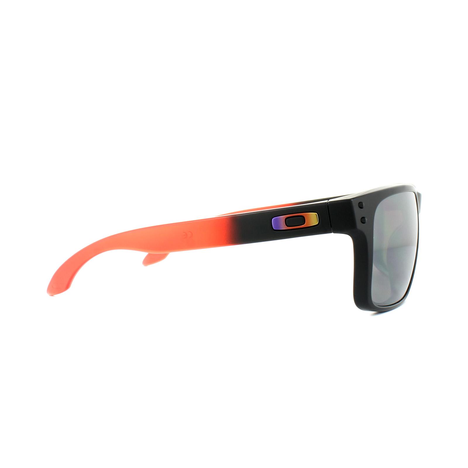 1a77b670ca Sentinel Oakley Sunglasses Holbrook OO9102-D3 Ruby Fade Prizm Black  Polarized
