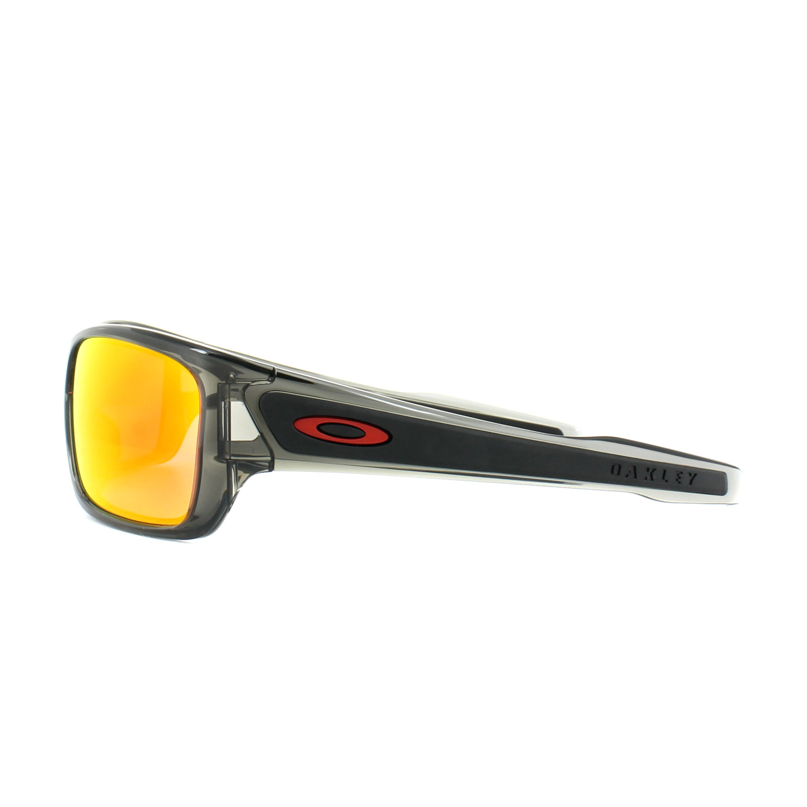 e865d03e54 Sentinel Oakley Sunglasses Turbine XS Youth Fit OJ9003-04 Grey Smoke Ruby  Iridium