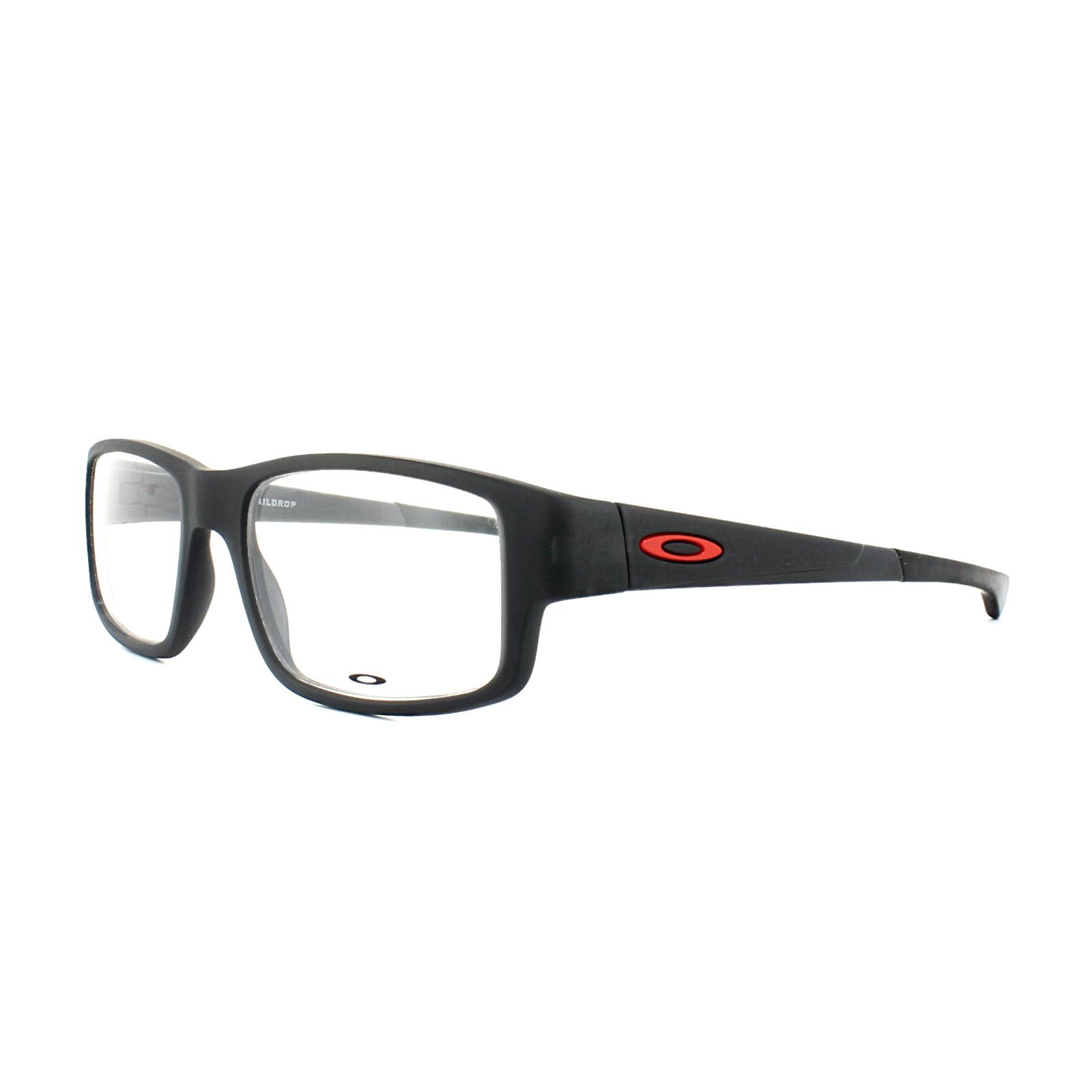 89cabcbca3 Details about Oakley Glasses Frames Taildrop OX8104-02 Satin Black Ink Mens  52mm