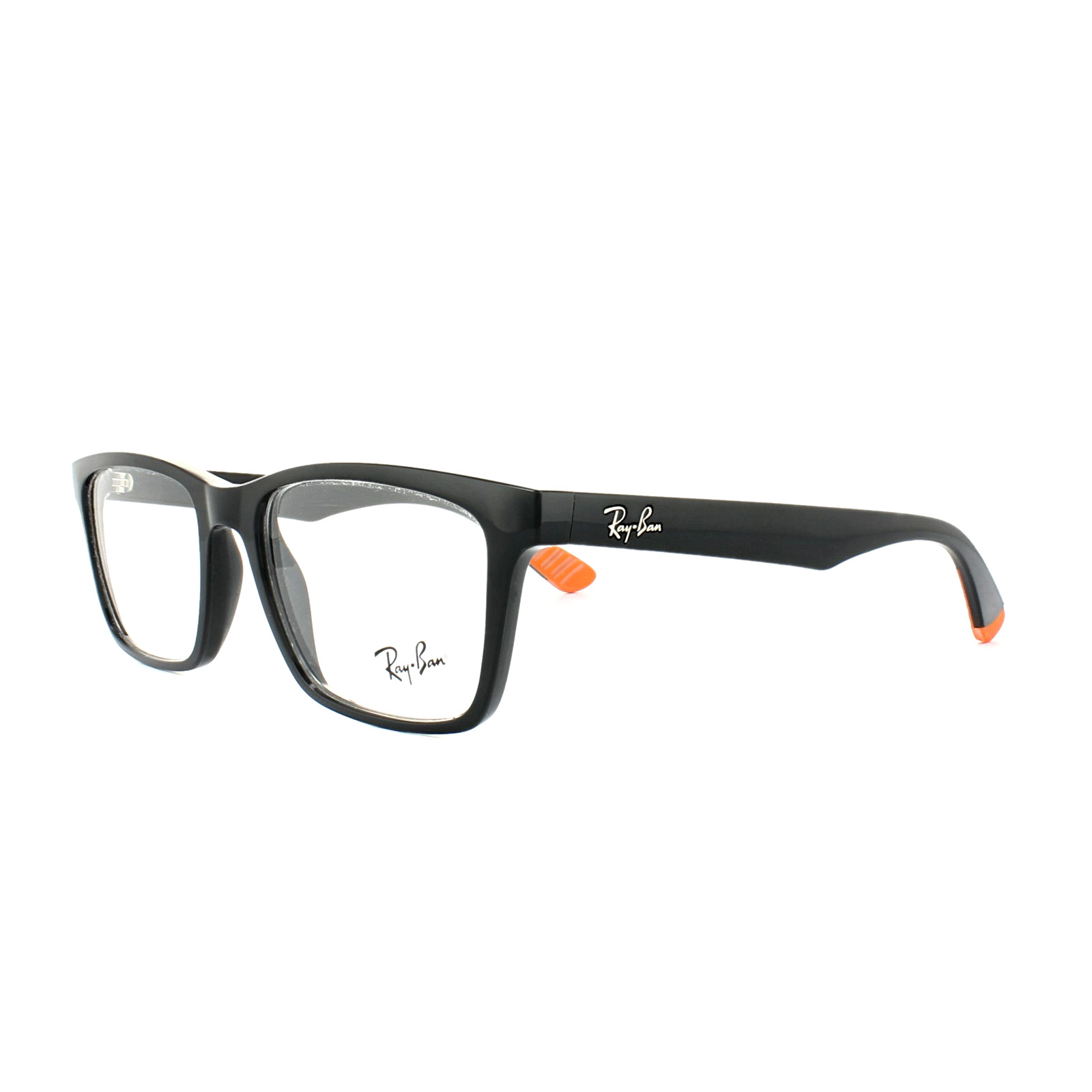 a83f619c4e Ray-Ban Glasses Frames 7025 5417 Black Mens 53mm 8053672243987