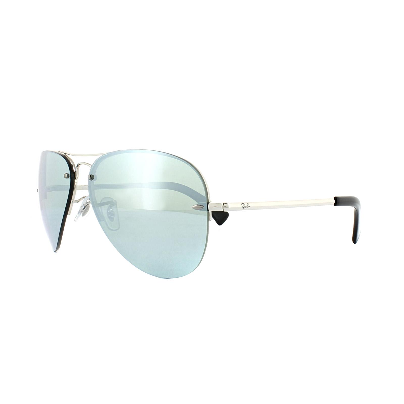 9130a1c13cb Ray-Ban Sunglasses 3449 003 30 Silver Silver Mirror 8053672495119