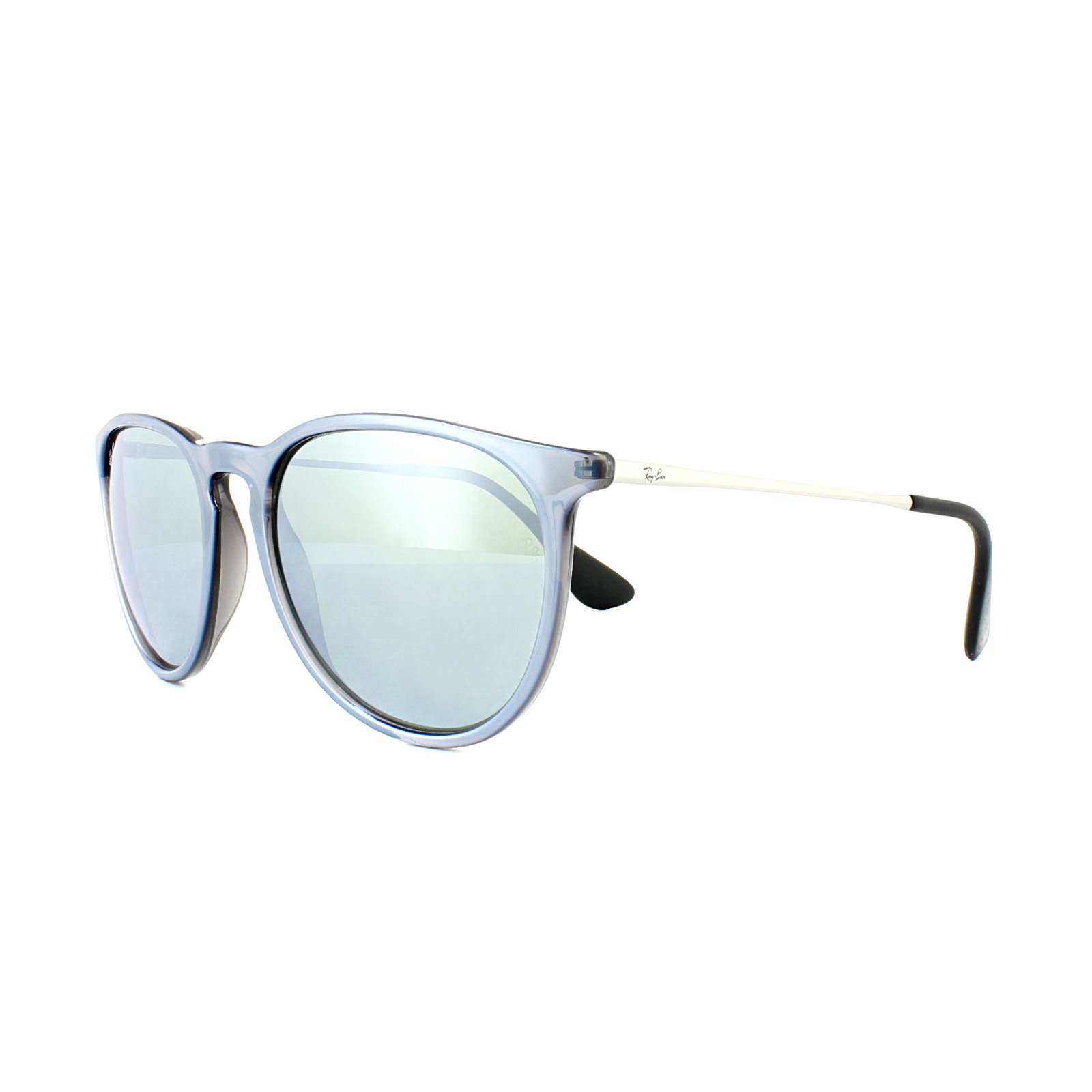 306b7503dc6c5f ... sale sentinel ray ban sunglasses erika 4171 631930 grey silver silver  mirror cc22b a22d1