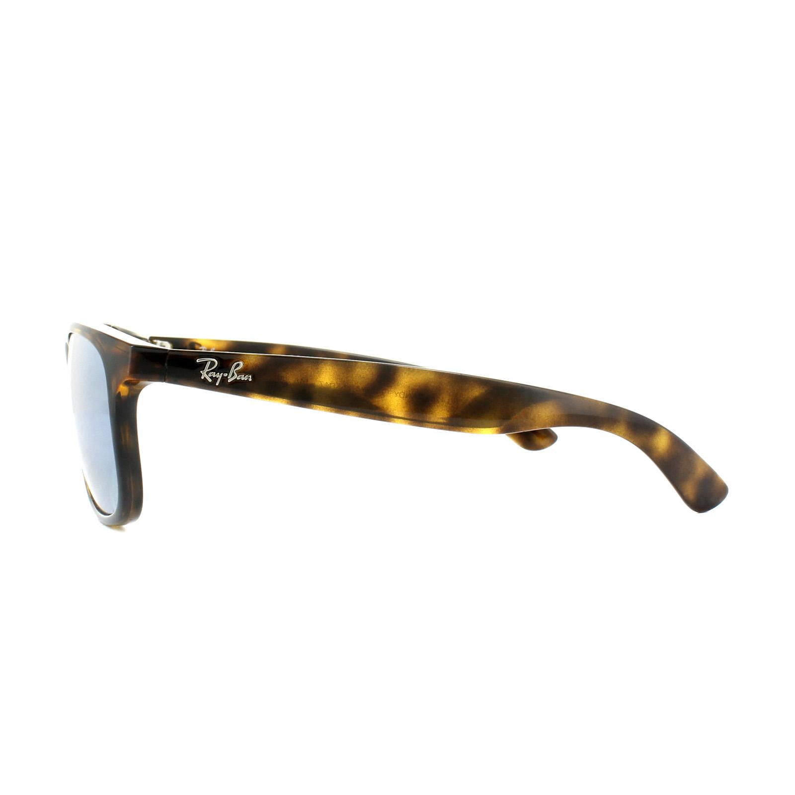 Sentinel Ray-Ban Sunglasses Andy 4202 710 Y4 Havana Silver Mirror Polarized fbd5818b05