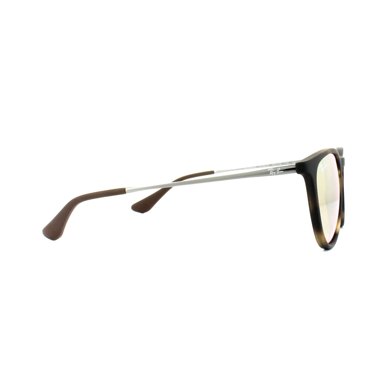 f58366a3a3 Sentinel Ray-Ban Junior Sunglasses Izzy 9060 70062Y Havana Gunmetal Copper  Mirror