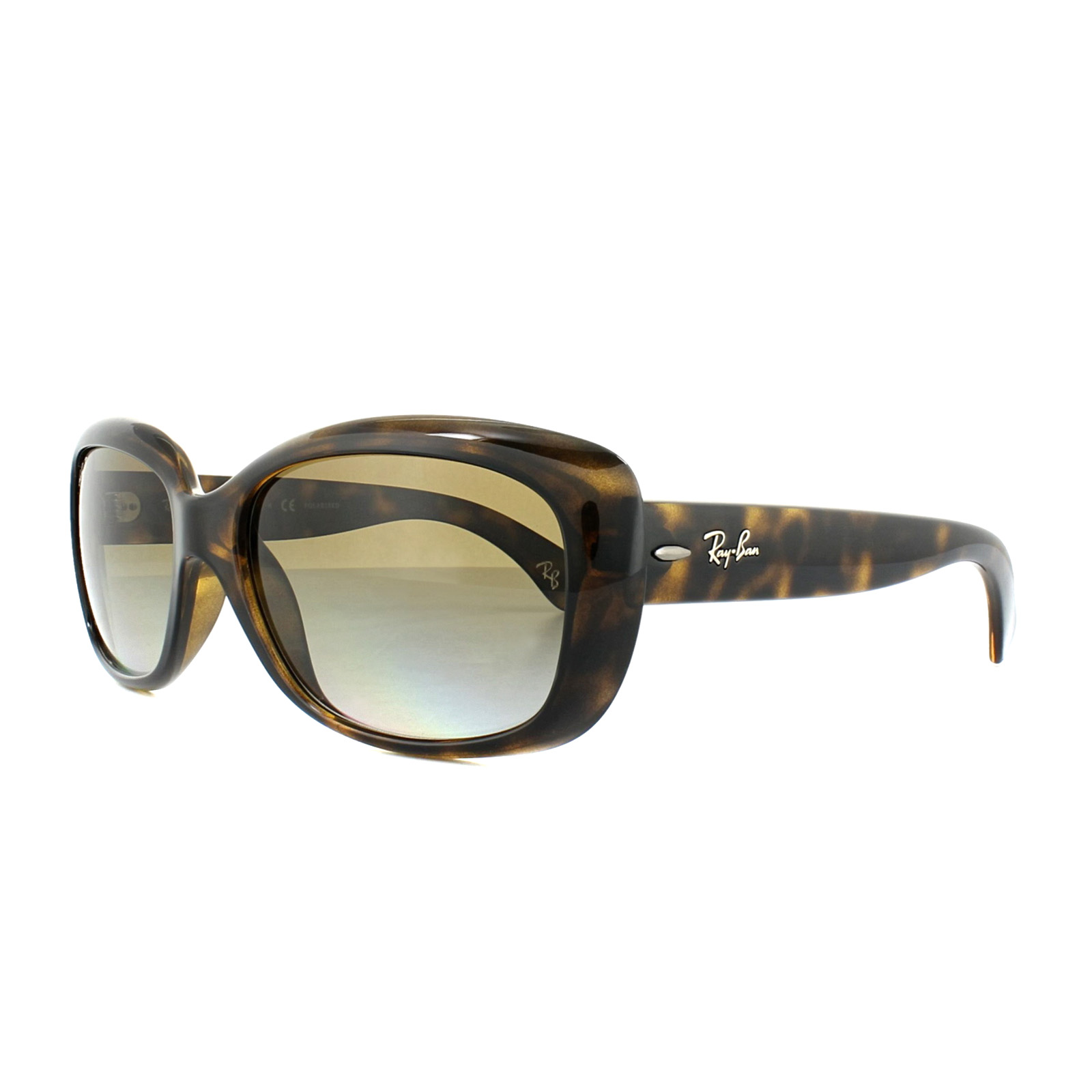 031ecb94bc Sentinel Ray-Ban Sunglasses Jackie Ohh 4101 710 T5 Tortoise Brown Gradient  Polarized