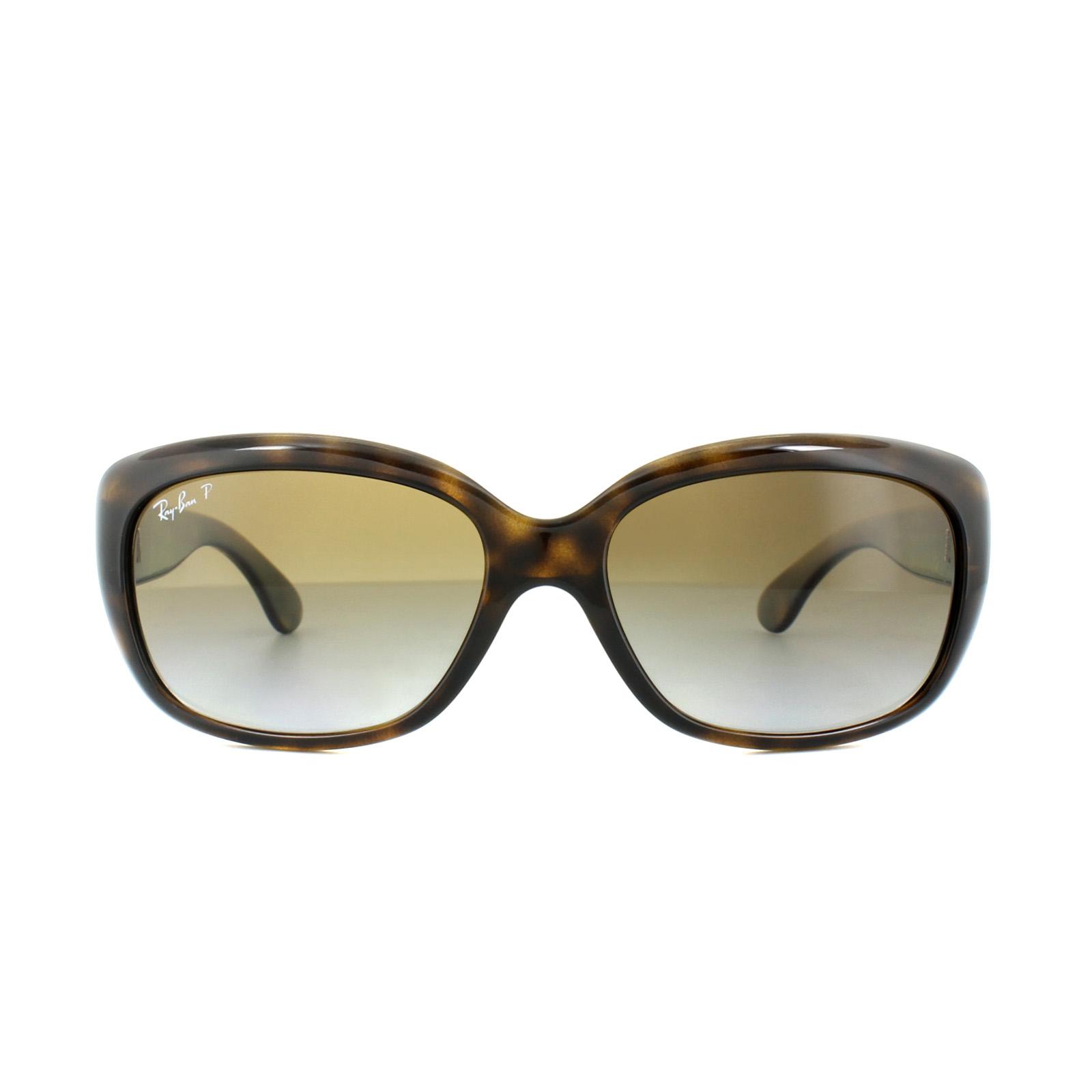 b0ee73e3e6e Sentinel Ray-Ban Sunglasses Jackie Ohh 4101 710 T5 Tortoise Brown Gradient  Polarized