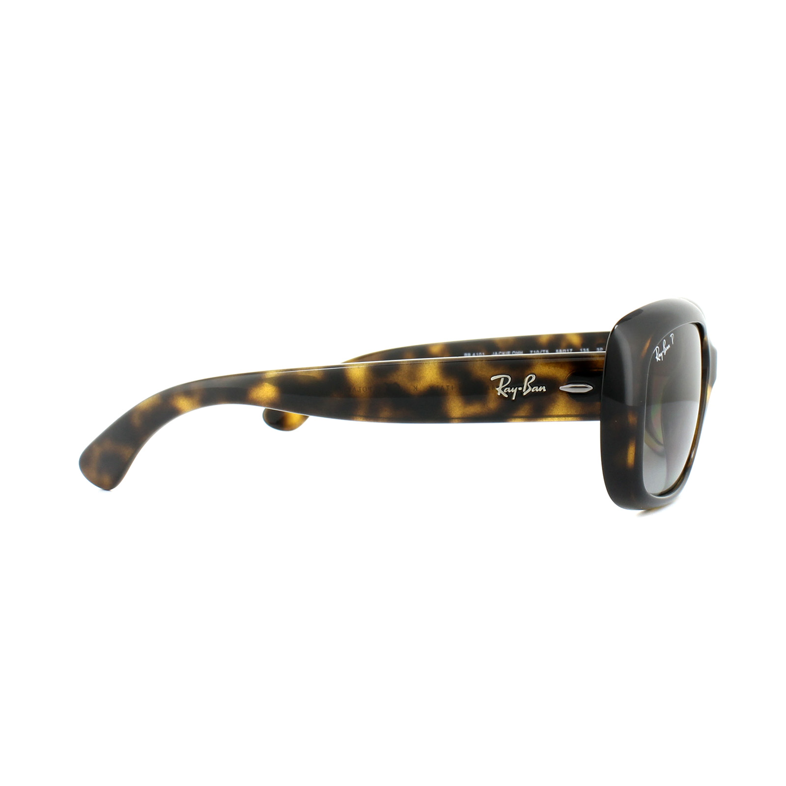 a77febba4ed2 Sentinel Ray-Ban Sunglasses Jackie Ohh 4101 710/T5 Tortoise Brown Gradient  Polarized