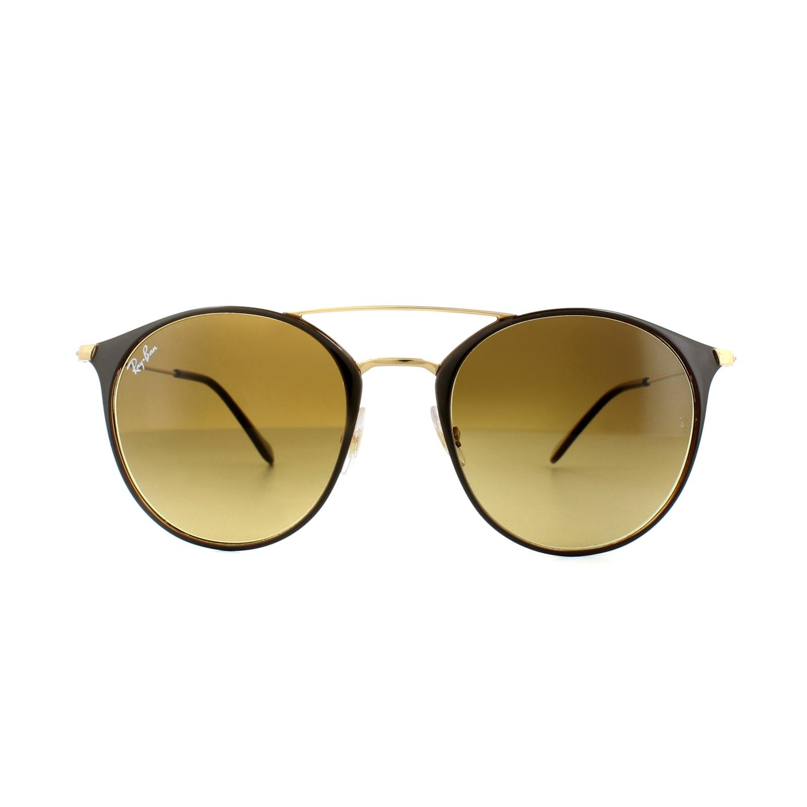 1c98d790da Sentinel Ray-Ban Sunglasses 3546 900985 Brown Gold Brown Gradient. Sentinel  Thumbnail 2