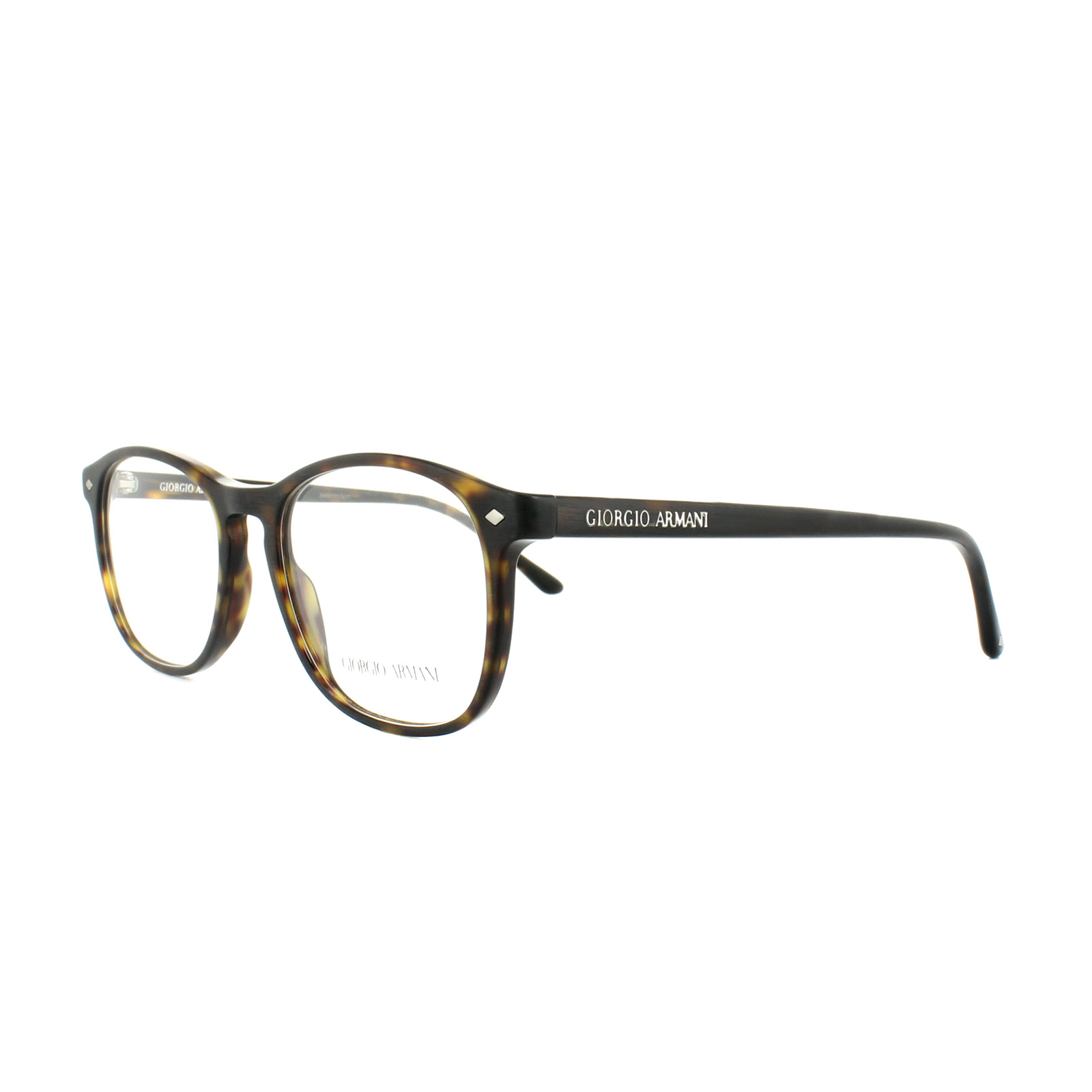 Giorgio Armani Glasses Frames AR 7003 5002 Matte Dark Havana Mens ...
